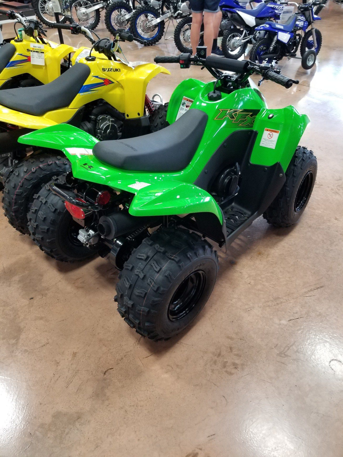 2020 Kawasaki KFX 90 in Evansville, Indiana - Photo 5