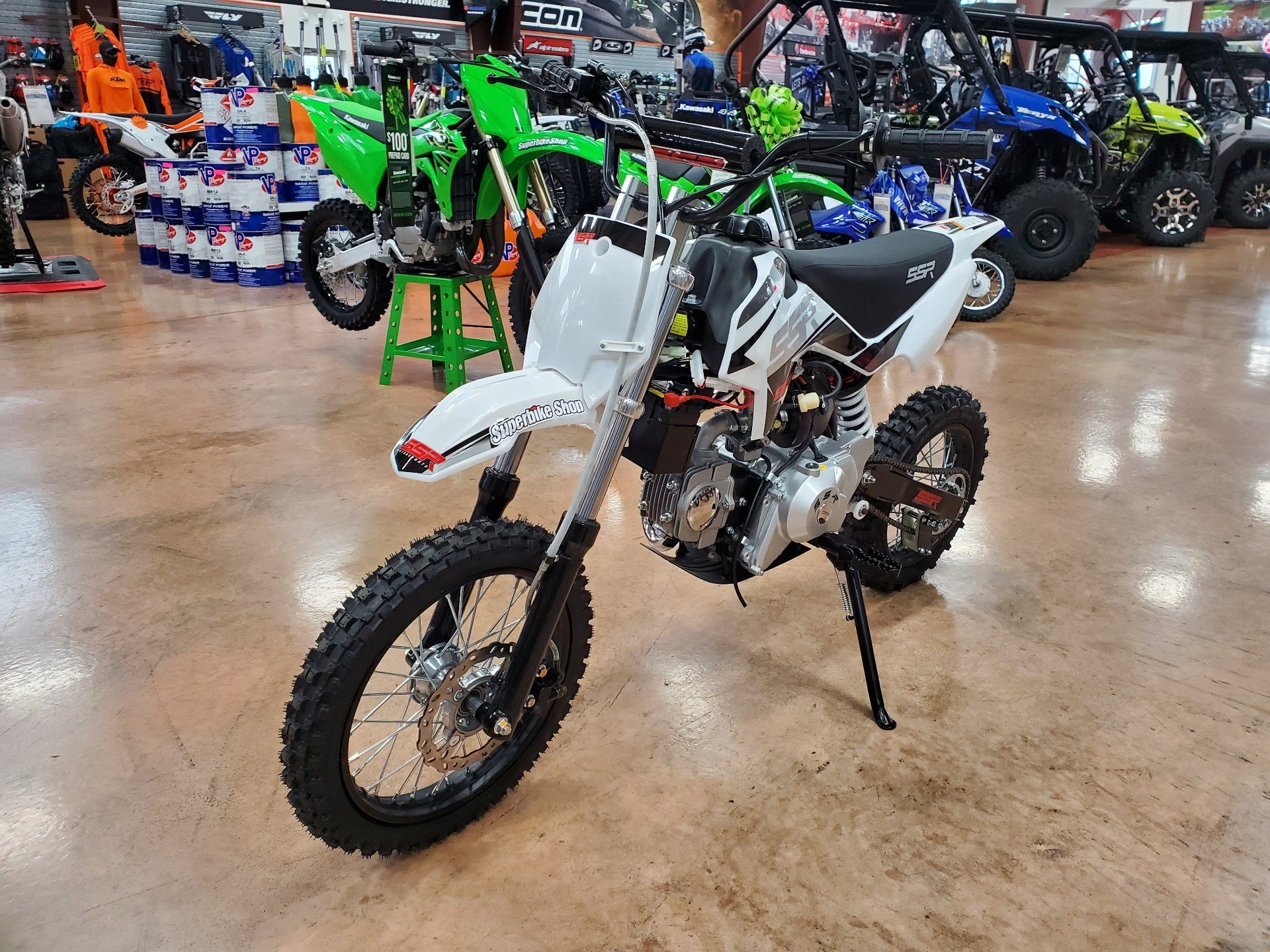 2021 SSR Motorsports SR125 Auto in Evansville, Indiana - Photo 3