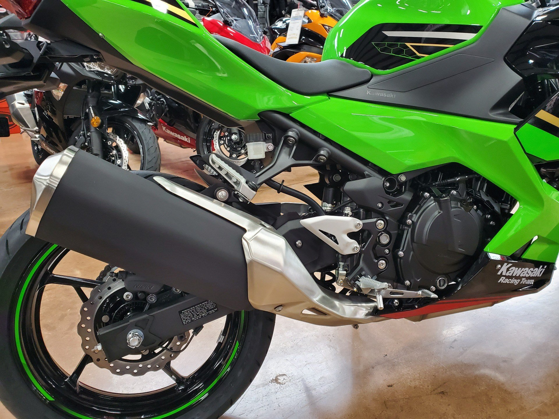 2020 Kawasaki Ninja 400 KRT Edition in Evansville, Indiana - Photo 8