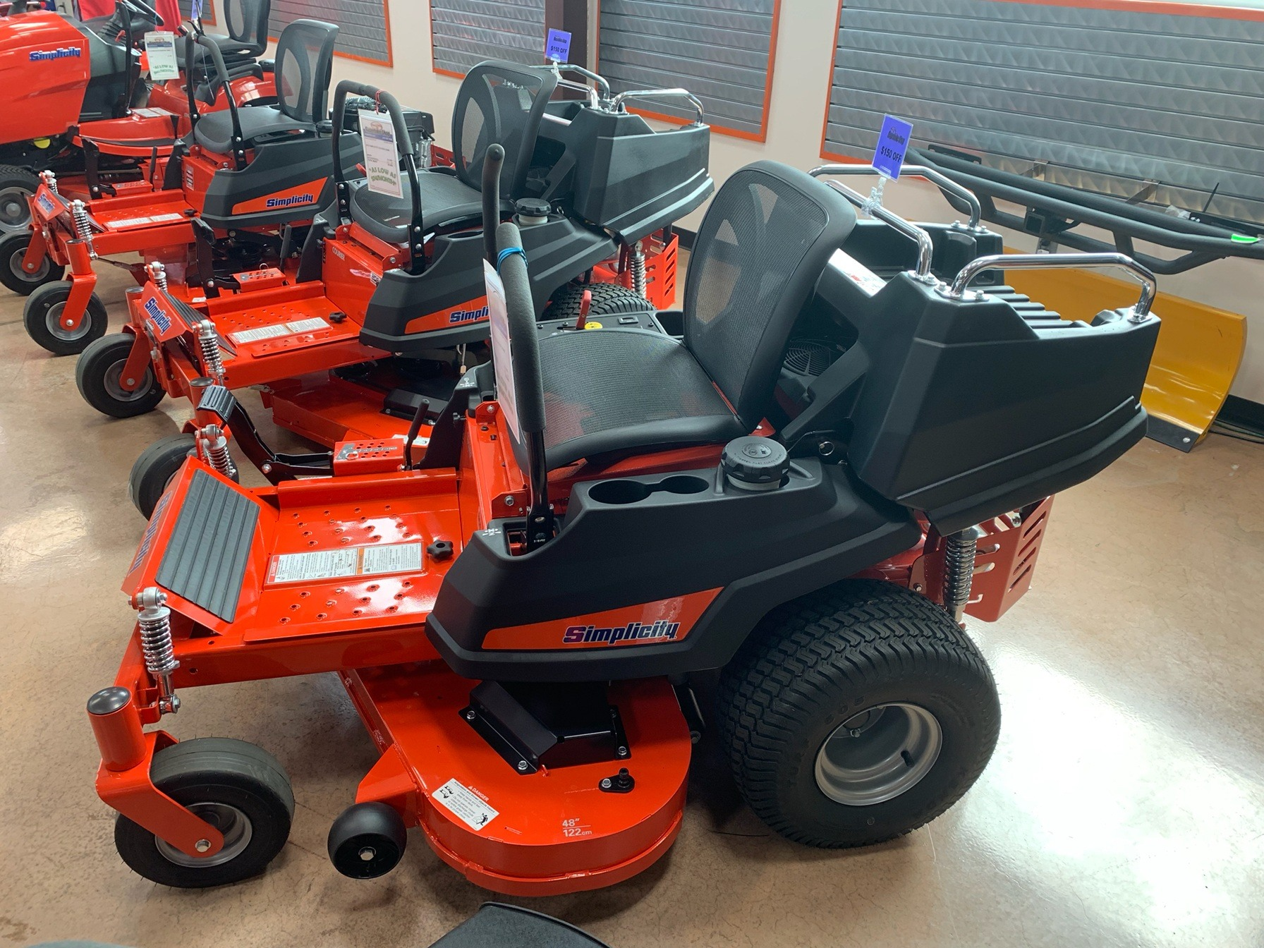 2019 Simplicity Courier 48 in. Briggs & Stratton 23 hp in Evansville, Indiana - Photo 1