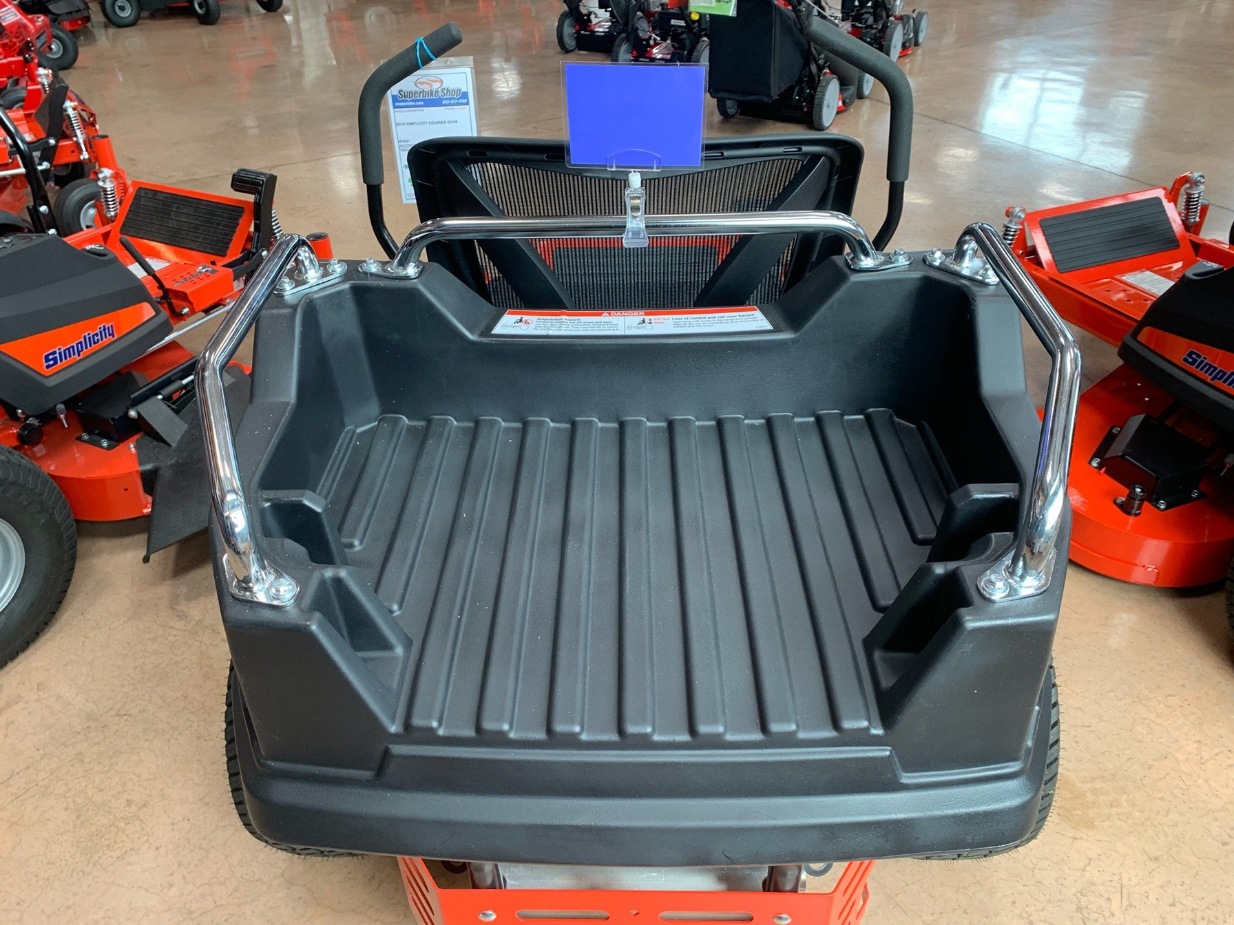 2019 Simplicity Courier 48 in. Briggs & Stratton 23 hp in Evansville, Indiana - Photo 6
