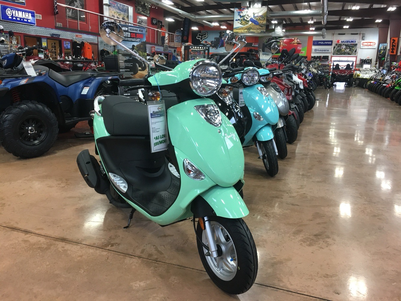2019 Genuine Scooters Buddy 50 in Evansville, Indiana - Photo 1
