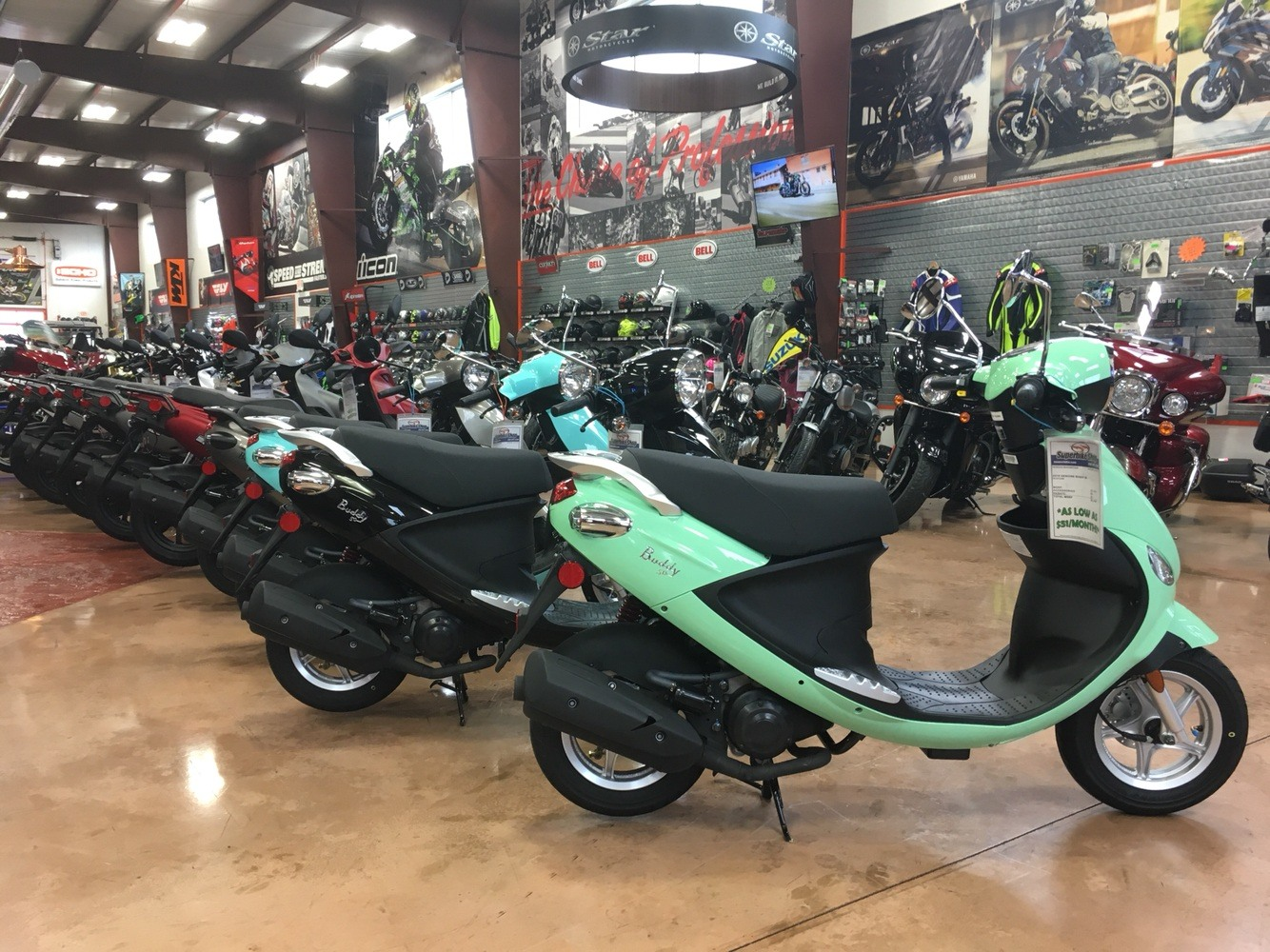 2019 Genuine Scooters Buddy 50 in Evansville, Indiana - Photo 3