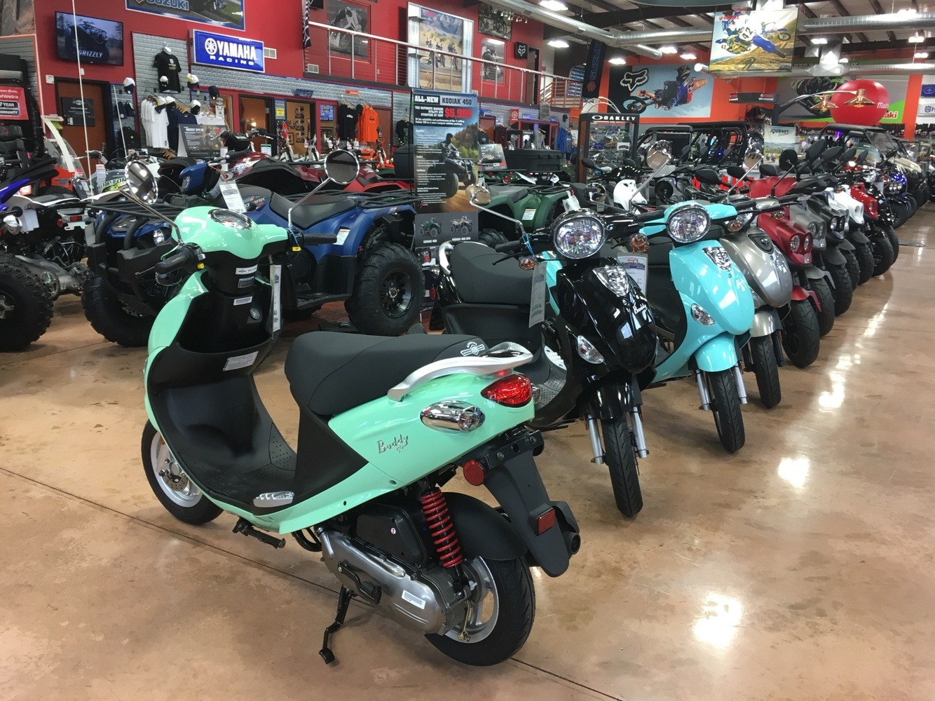 2019 Genuine Scooters Buddy 50 in Evansville, Indiana - Photo 7