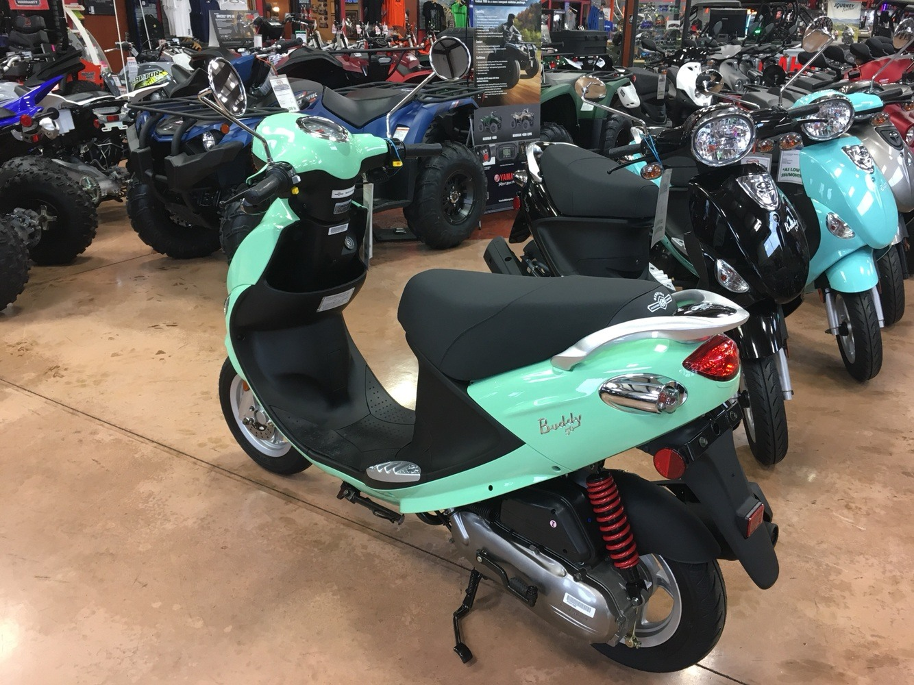 2019 Genuine Scooters Buddy 50 in Evansville, Indiana - Photo 8