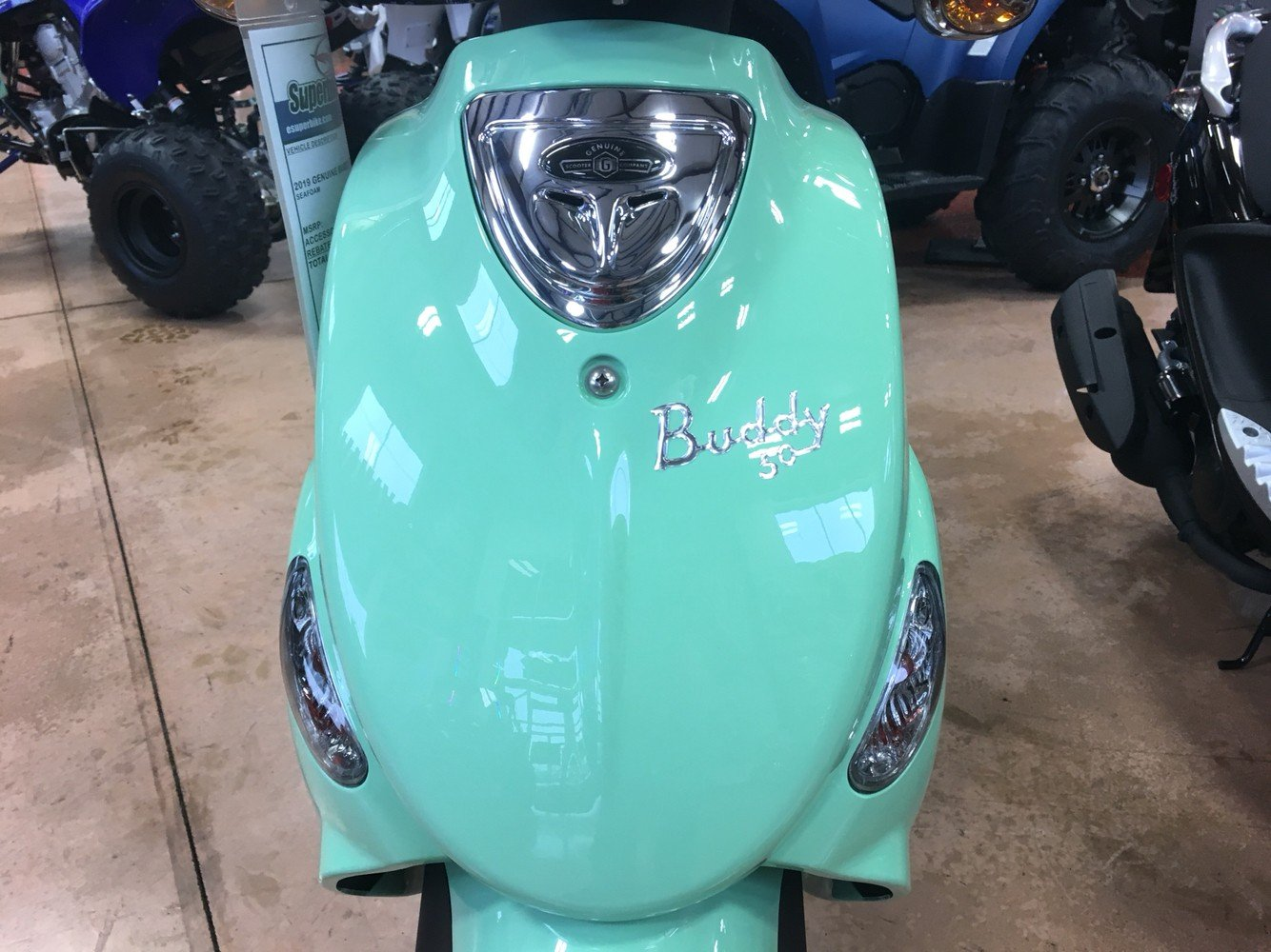 2019 Genuine Scooters Buddy 50 in Evansville, Indiana - Photo 11