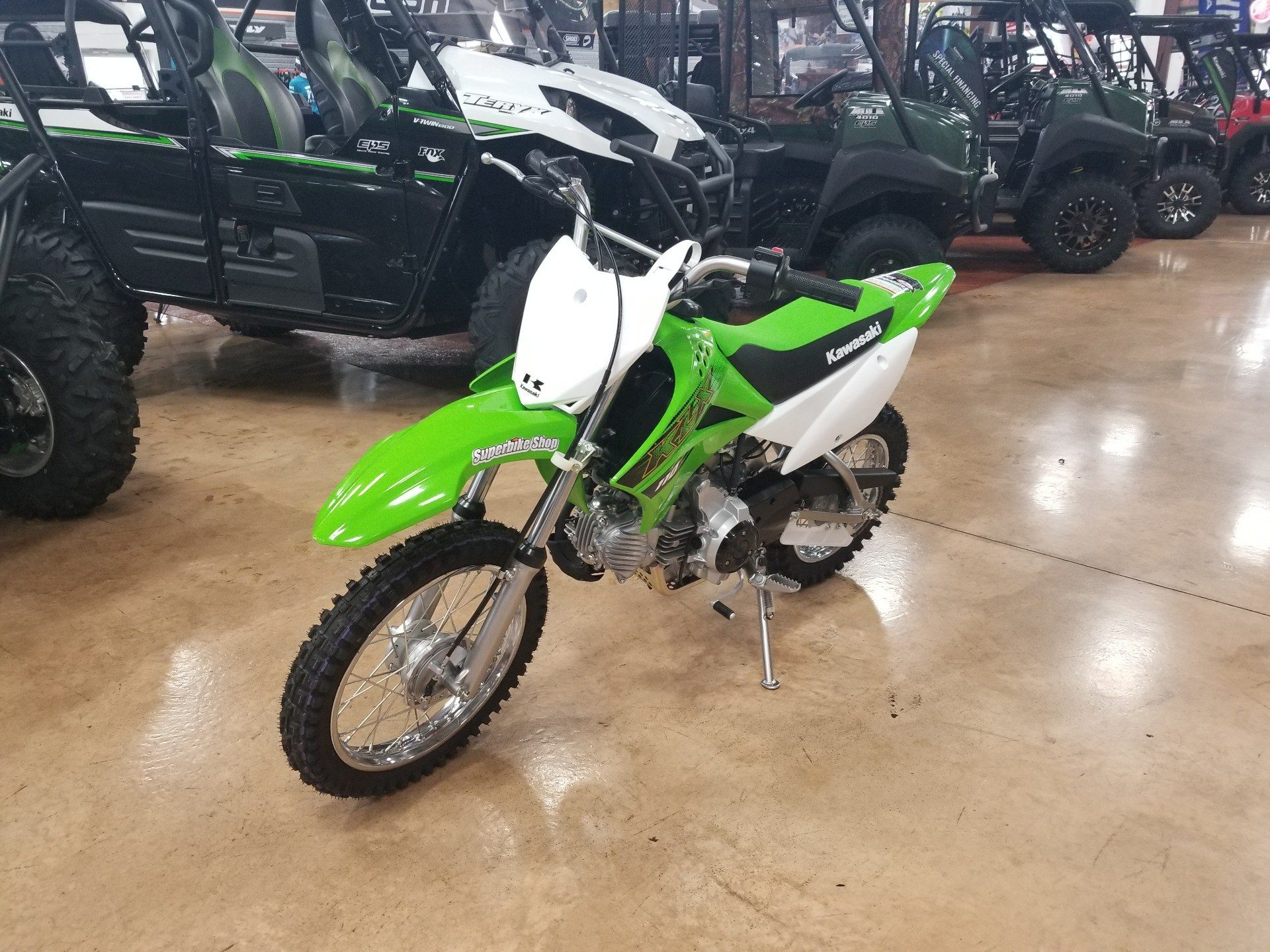 2020 Kawasaki KLX 110 in Evansville, Indiana - Photo 2