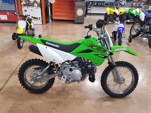 2020 Kawasaki KLX 110 in Evansville, Indiana - Photo 1
