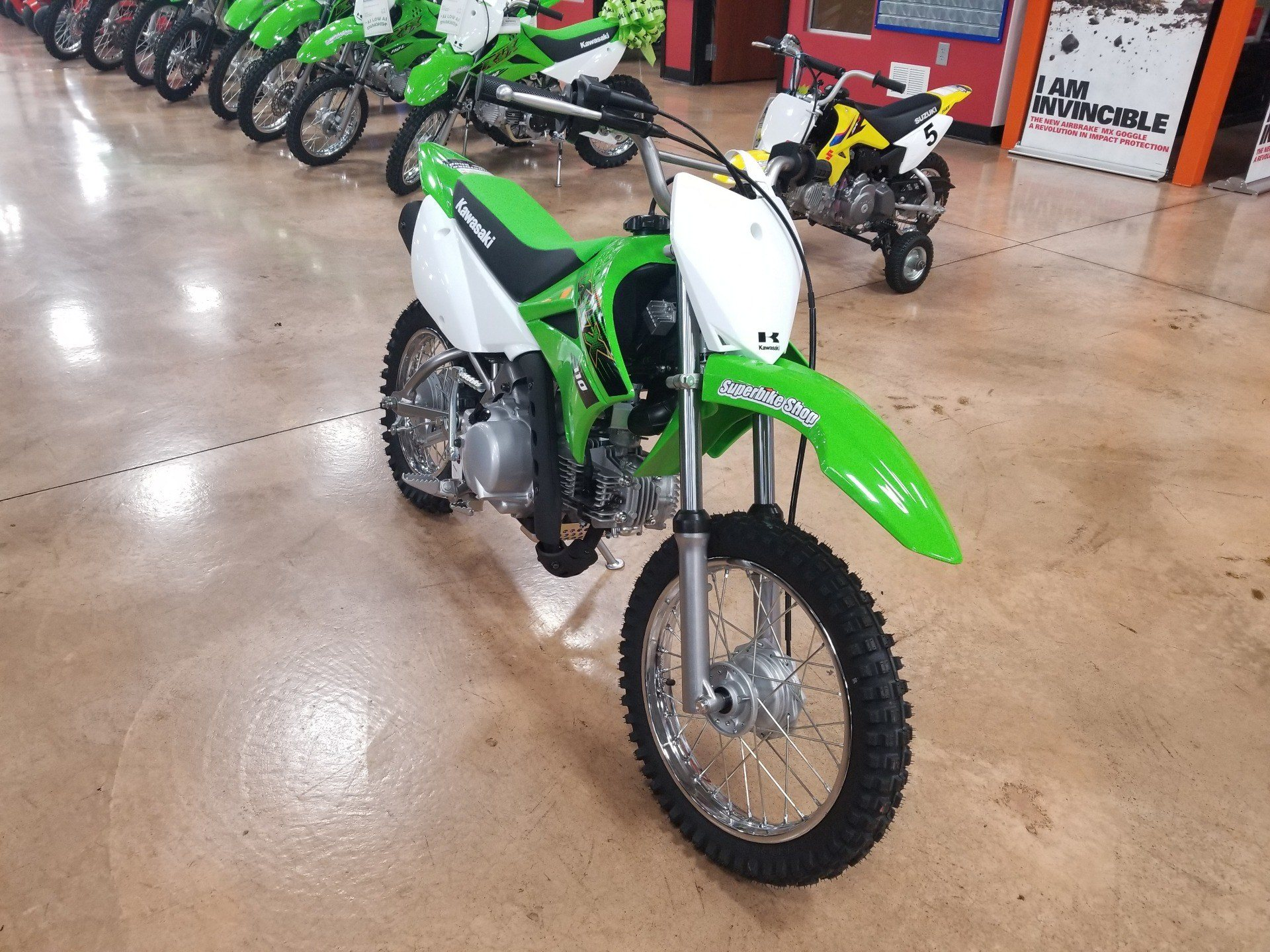 2020 Kawasaki KLX 110 in Evansville, Indiana - Photo 4