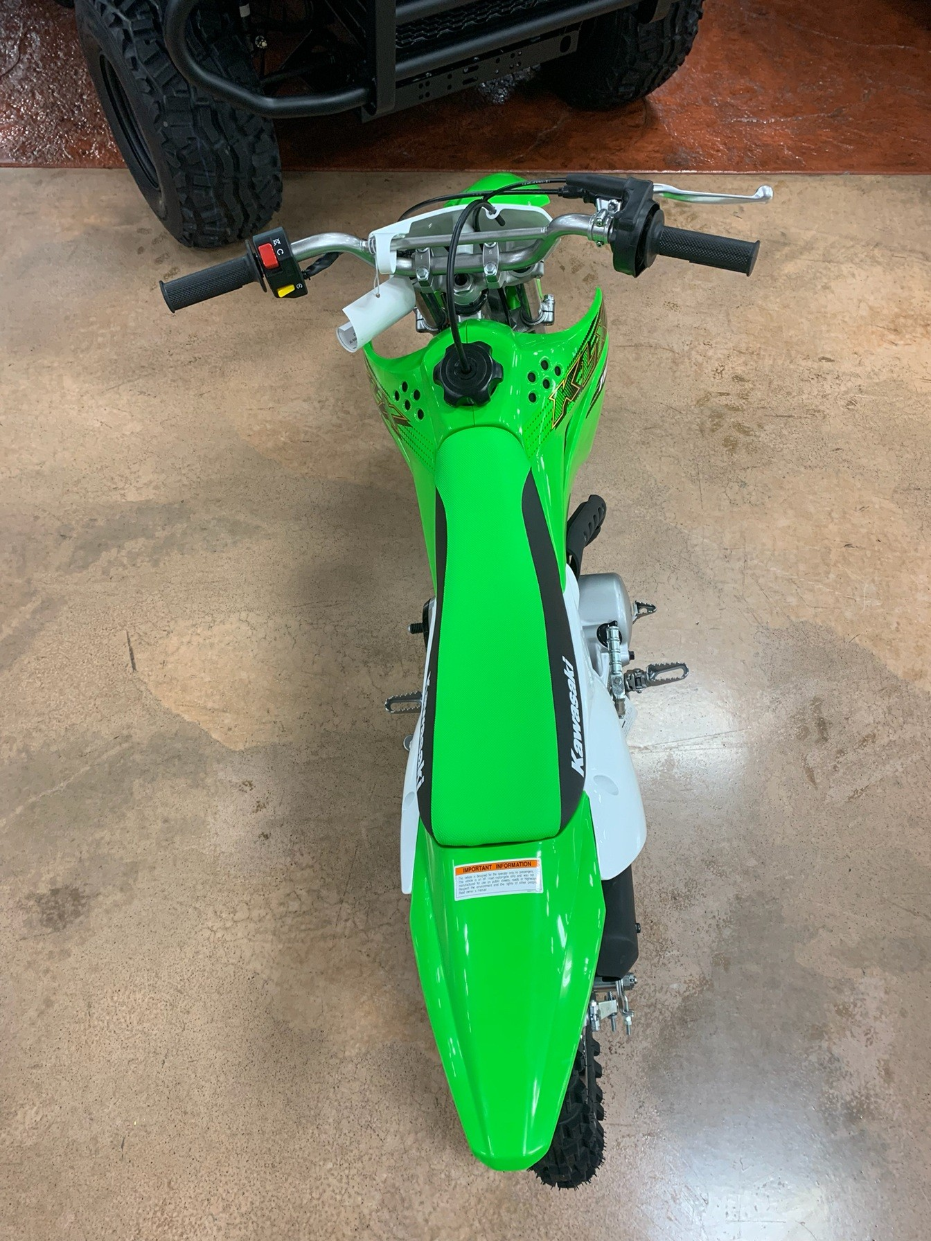 2020 Kawasaki KLX 110 in Evansville, Indiana - Photo 5