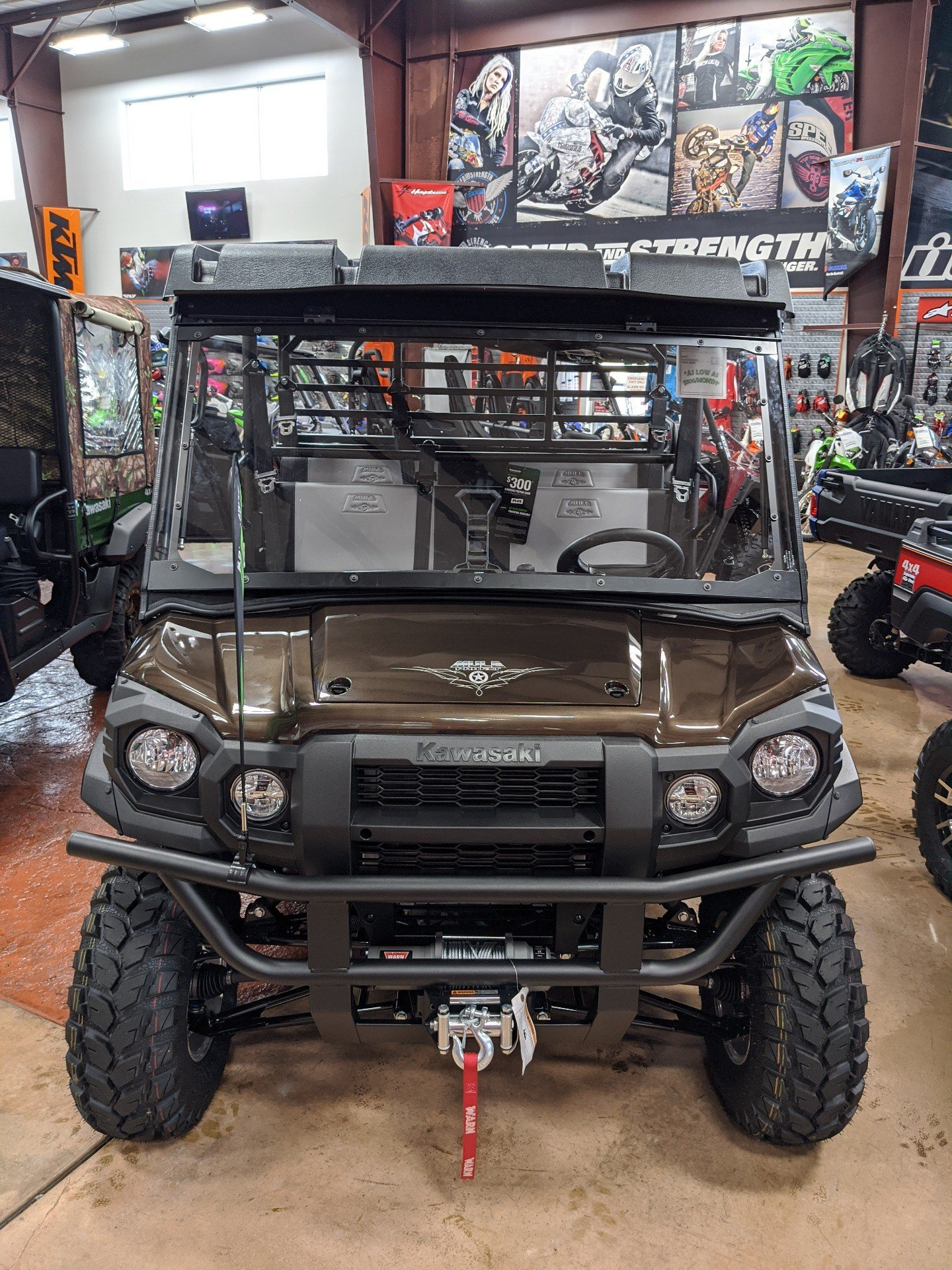 2020 Kawasaki Mule PRO-FXT Ranch Edition in Evansville, Indiana - Photo 3
