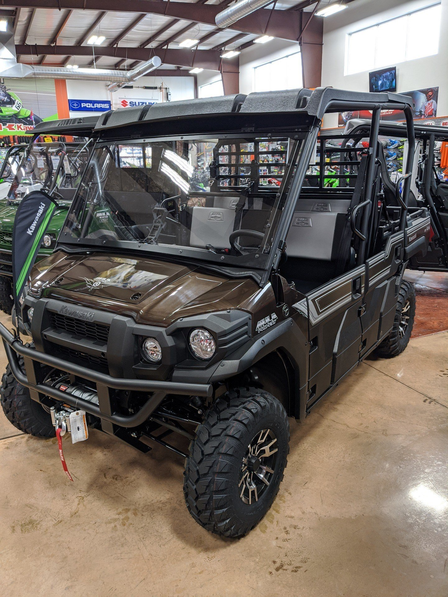 2020 Kawasaki Mule PRO-FXT Ranch Edition in Evansville, Indiana - Photo 5