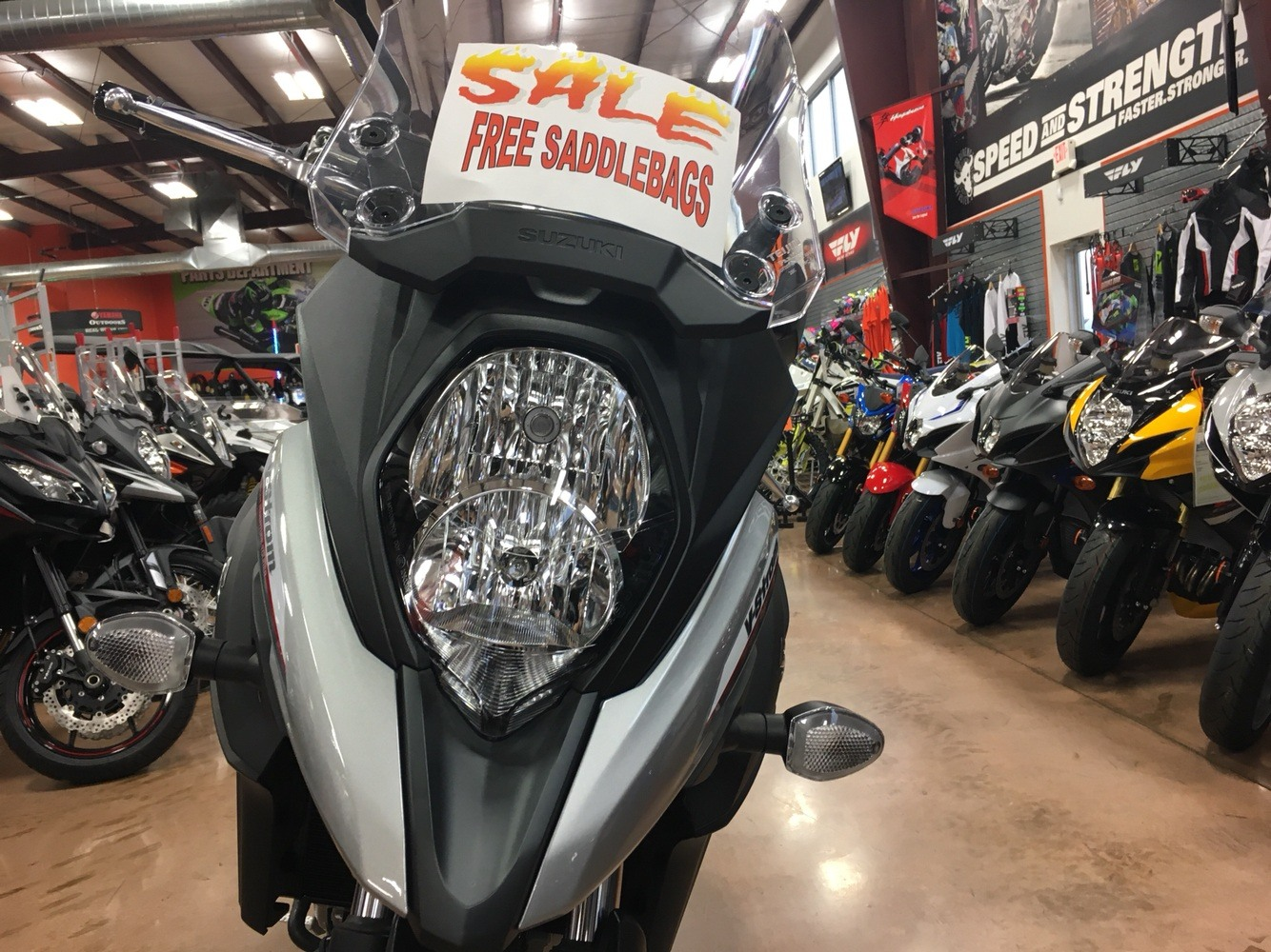 2017 Suzuki V-Strom 650 in Evansville, Indiana - Photo 10