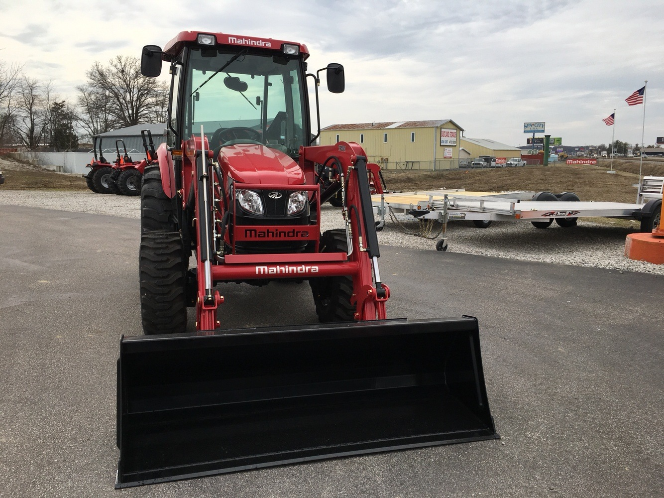2019 Mahindra 2655 HST Cab in Evansville, Indiana - Photo 3