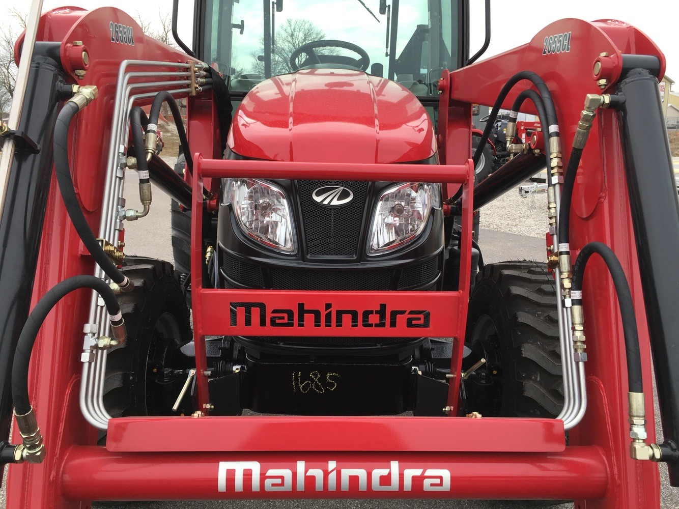 2019 Mahindra 2655 HST Cab in Evansville, Indiana - Photo 12