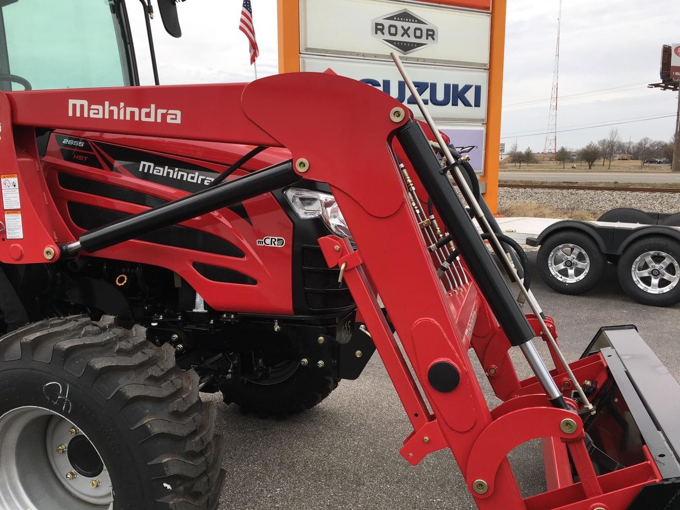 2019 Mahindra 2655 HST Cab in Evansville, Indiana - Photo 17