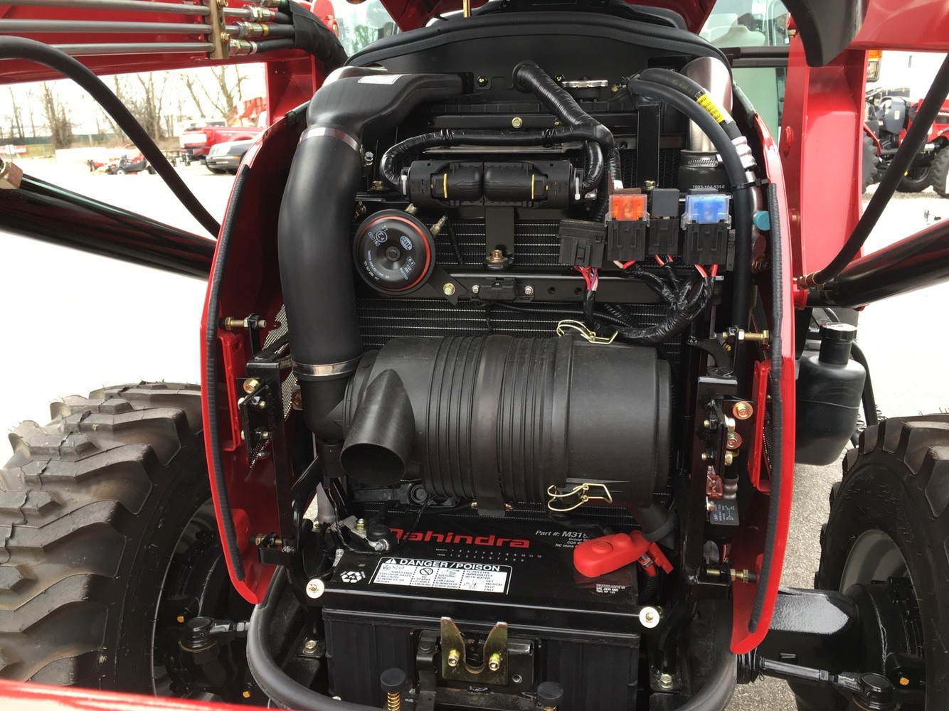 2019 Mahindra 2655 HST Cab in Evansville, Indiana - Photo 44