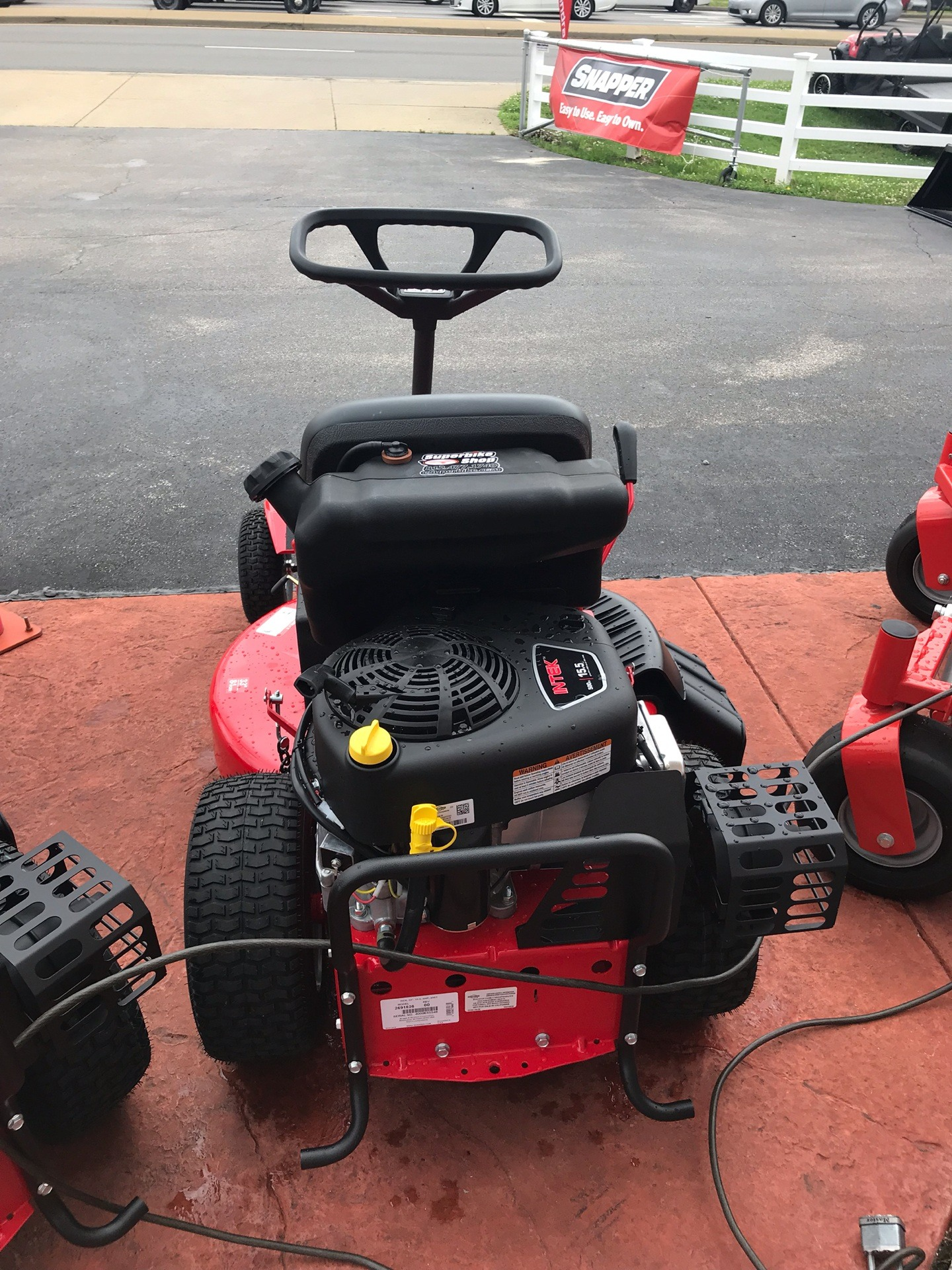 2019 Snapper Classic Rear Engine 33 in. Briggs & Stratton Intek 15.5 hp in Evansville, Indiana - Photo 4