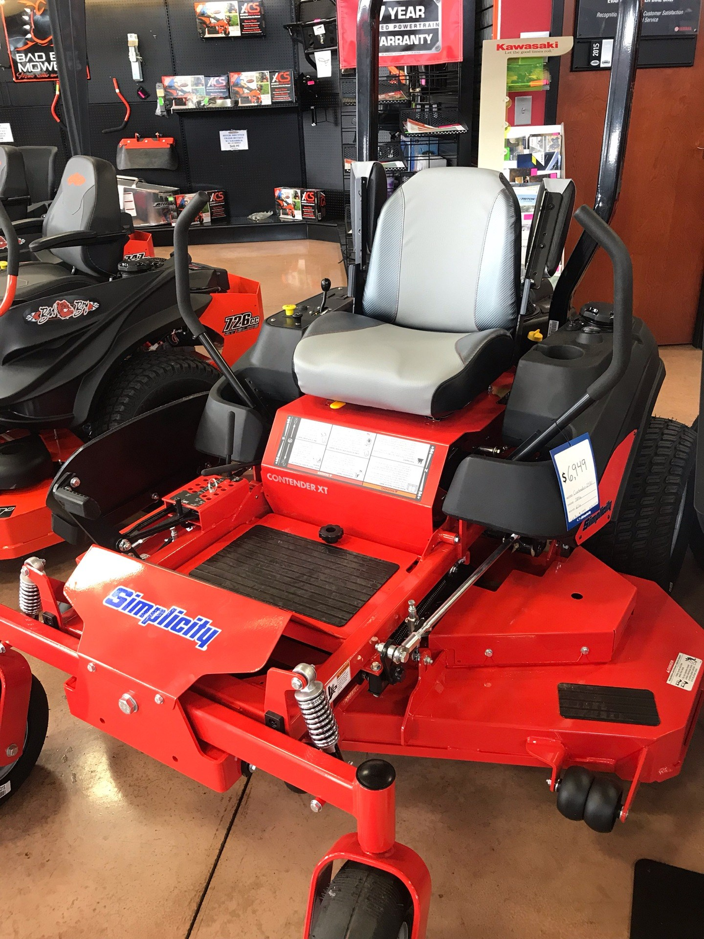 2019 Simplicity Contender 61 in. Briggs & Stratton 25 hp in Evansville, Indiana - Photo 1