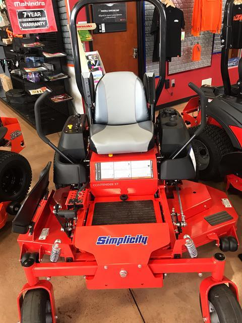 2019 Simplicity Contender 61 in. Briggs & Stratton 25 hp in Evansville, Indiana - Photo 2