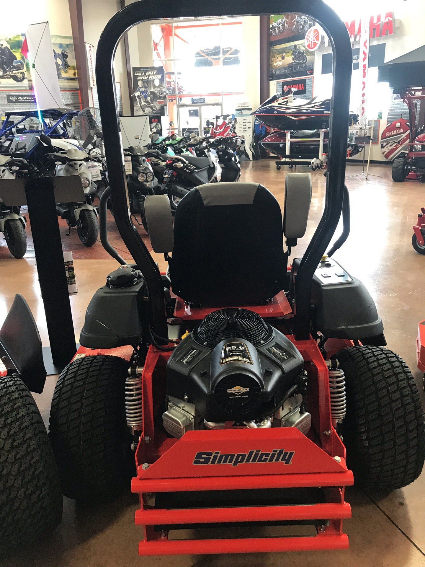 2019 Simplicity Contender 61 in. Briggs & Stratton 25 hp in Evansville, Indiana - Photo 4