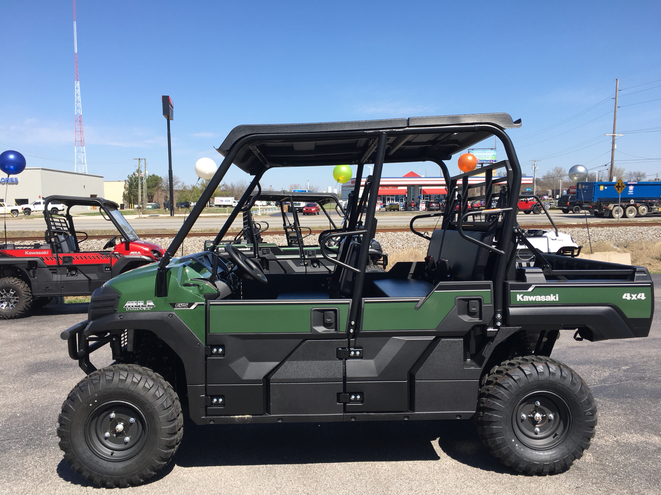 2019 Kawasaki Mule PRO-FXT EPS in Evansville, Indiana - Photo 2