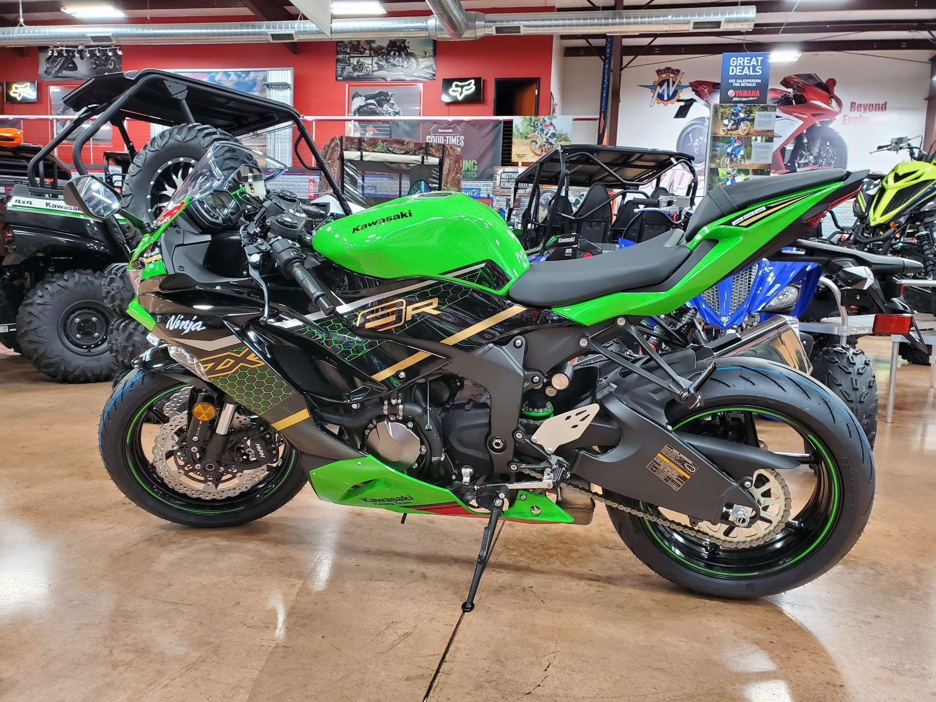 2020 Kawasaki Ninja ZX-6R ABS KRT Edition in Evansville, Indiana - Photo 4