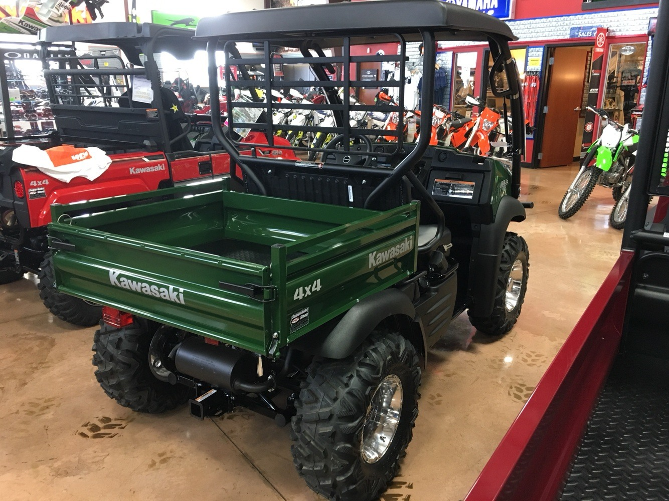 2019 Kawasaki Mule SX 4X4 in Evansville, Indiana - Photo 4