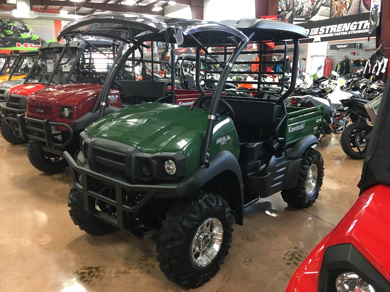 2019 Kawasaki Mule SX 4X4 in Evansville, Indiana - Photo 10