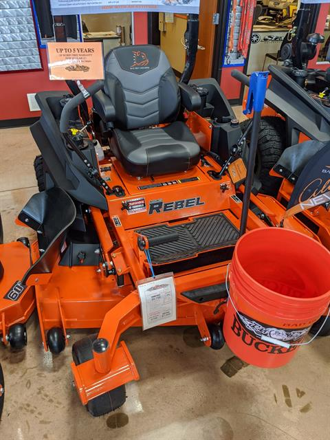 2019 Bad Boy Mowers Rebel 61 in. Kawasaki FX 852 cc in Evansville, Indiana