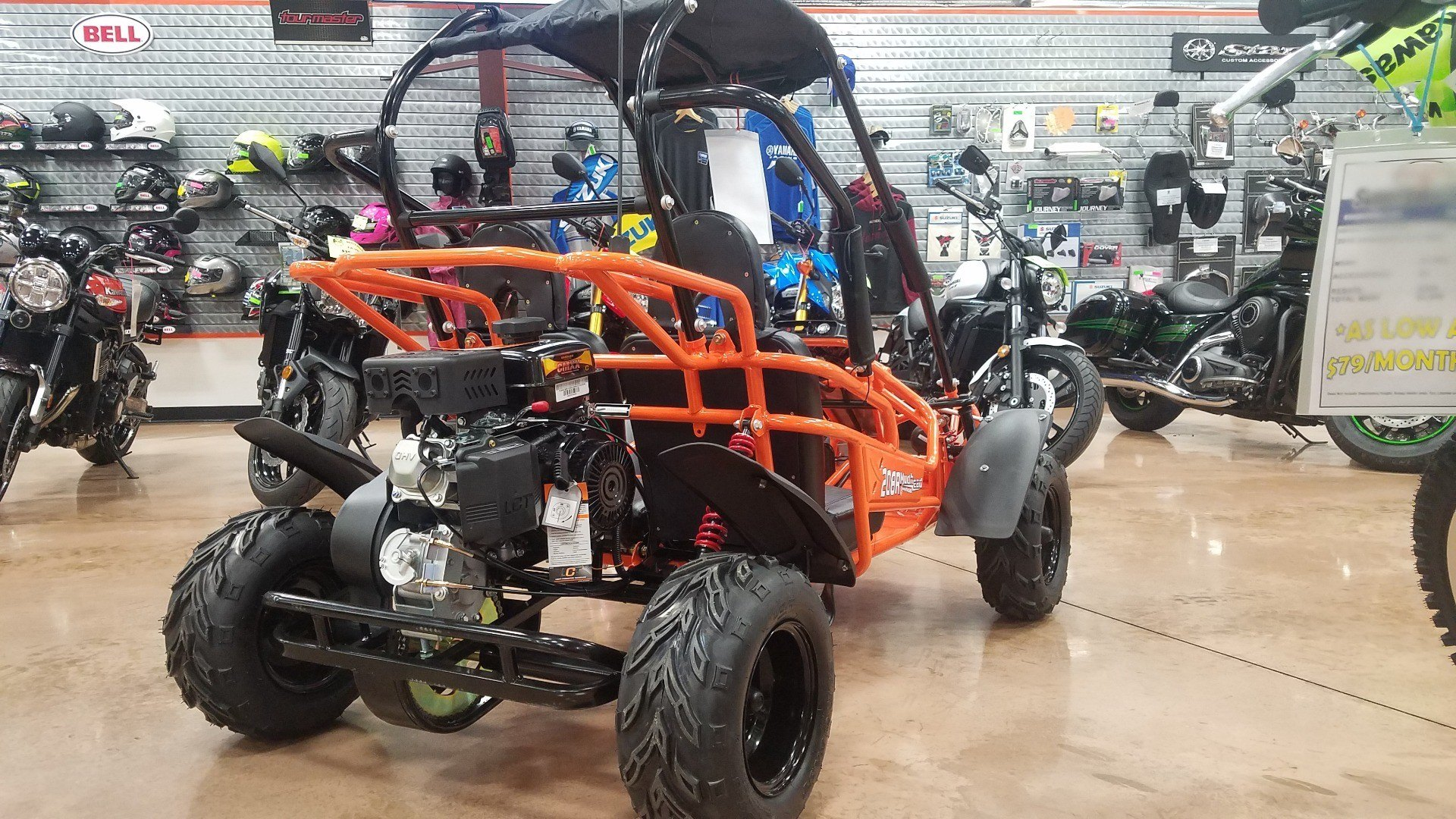 2018 Hammerhead Off-Road MudHead 208R in Evansville, Indiana - Photo 3
