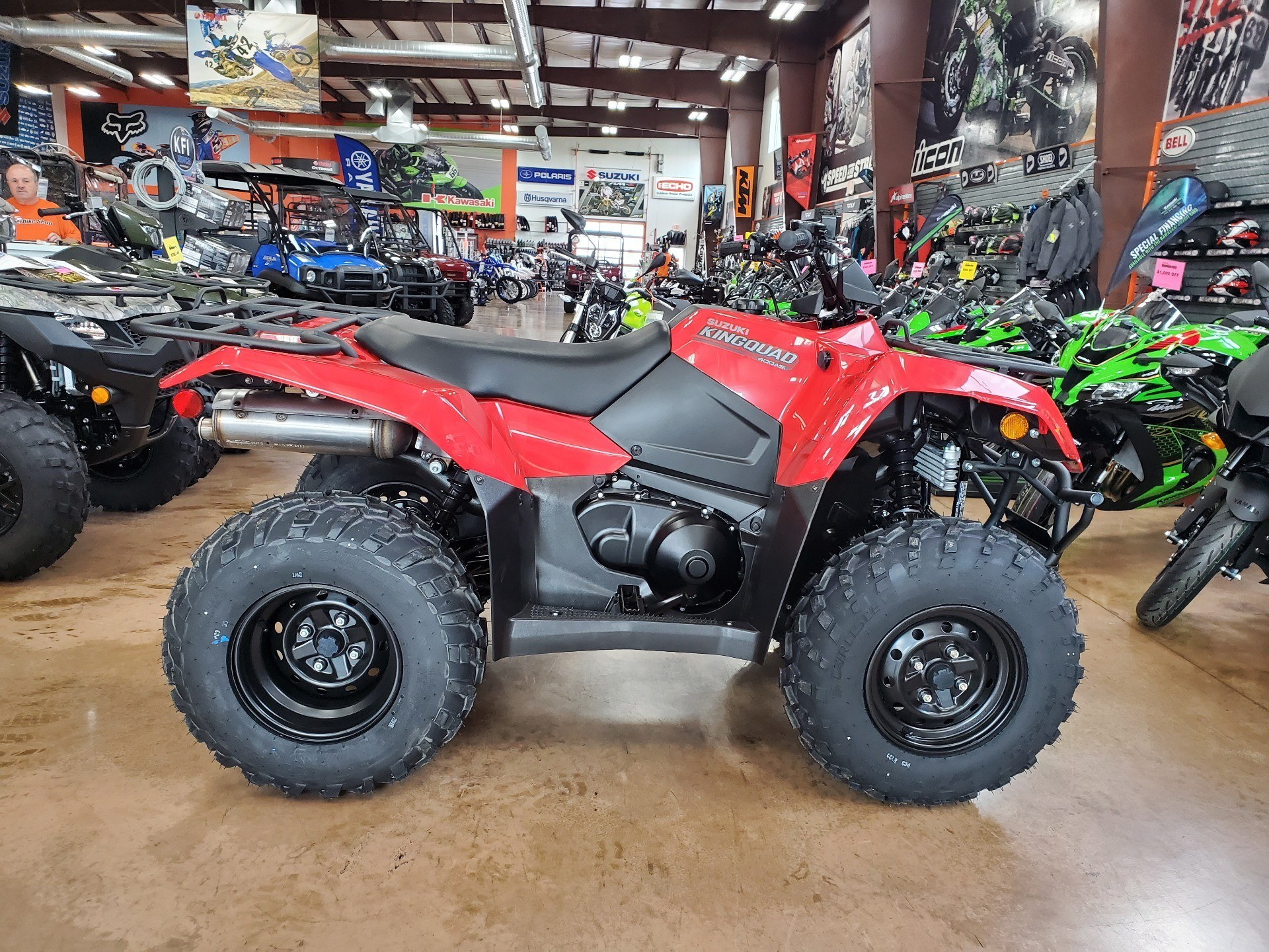 2020 Suzuki KingQuad 400ASi in Evansville, Indiana - Photo 1