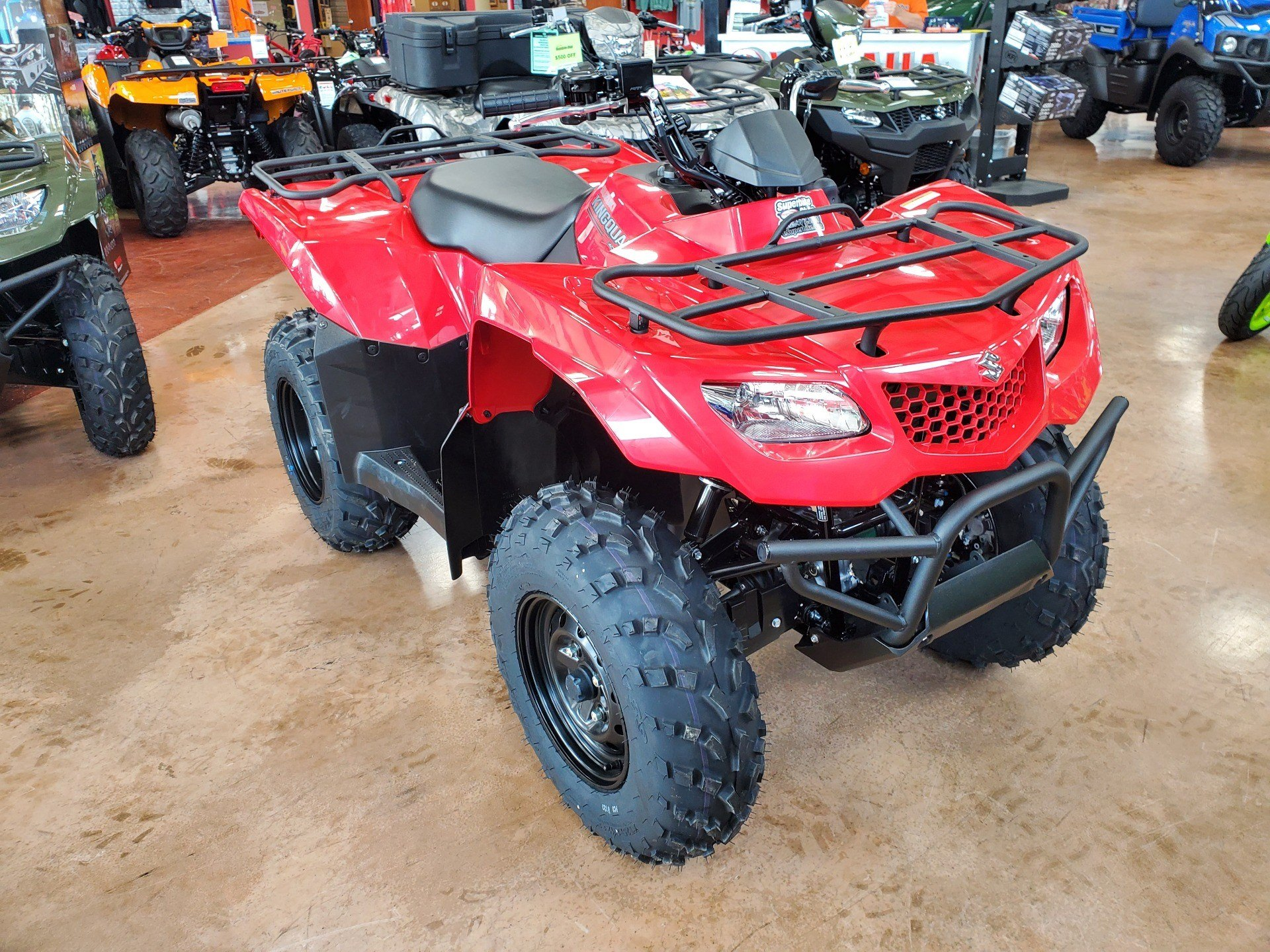 2020 Suzuki KingQuad 400ASi in Evansville, Indiana - Photo 2