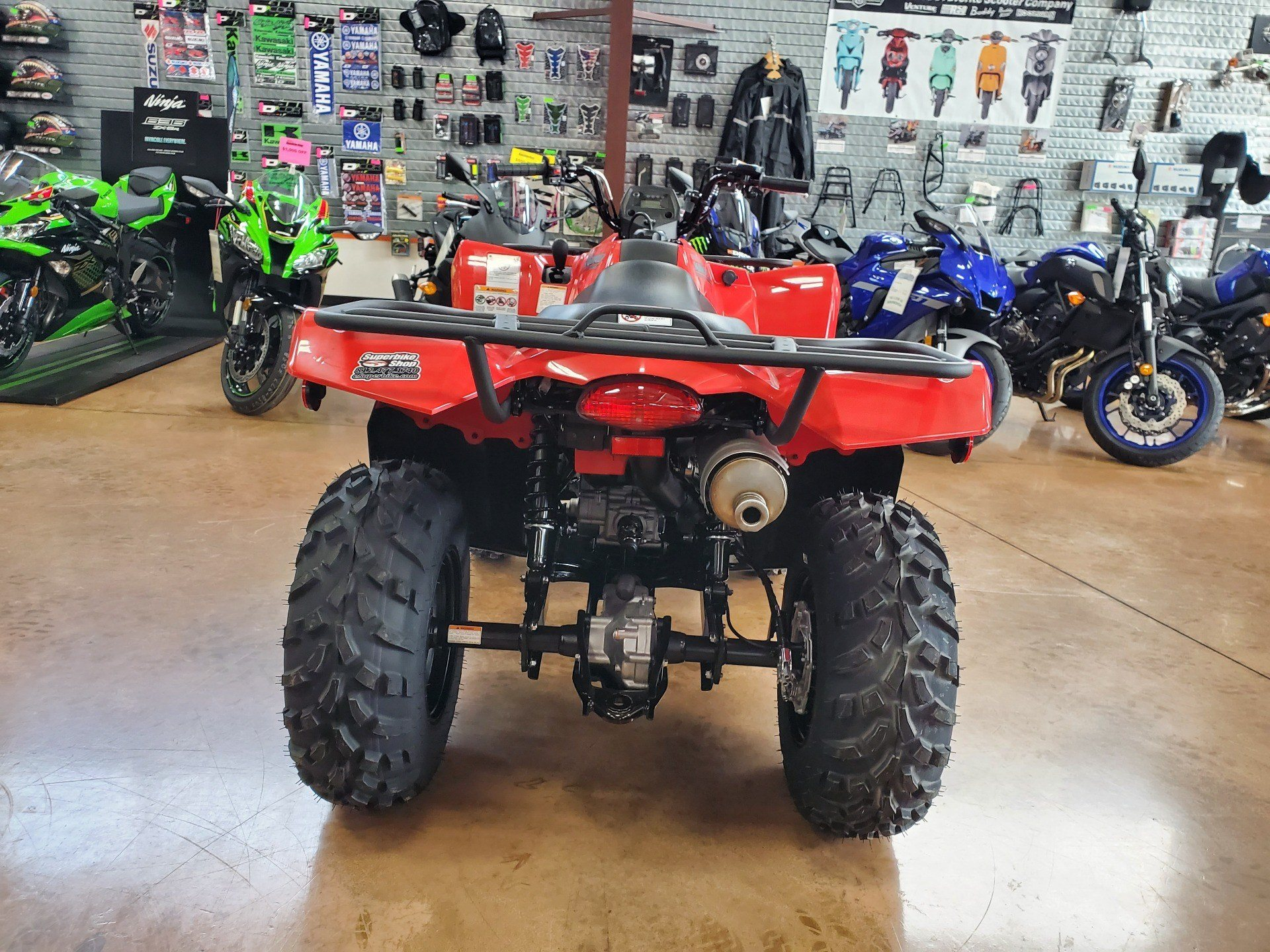 2020 Suzuki KingQuad 400ASi in Evansville, Indiana - Photo 5