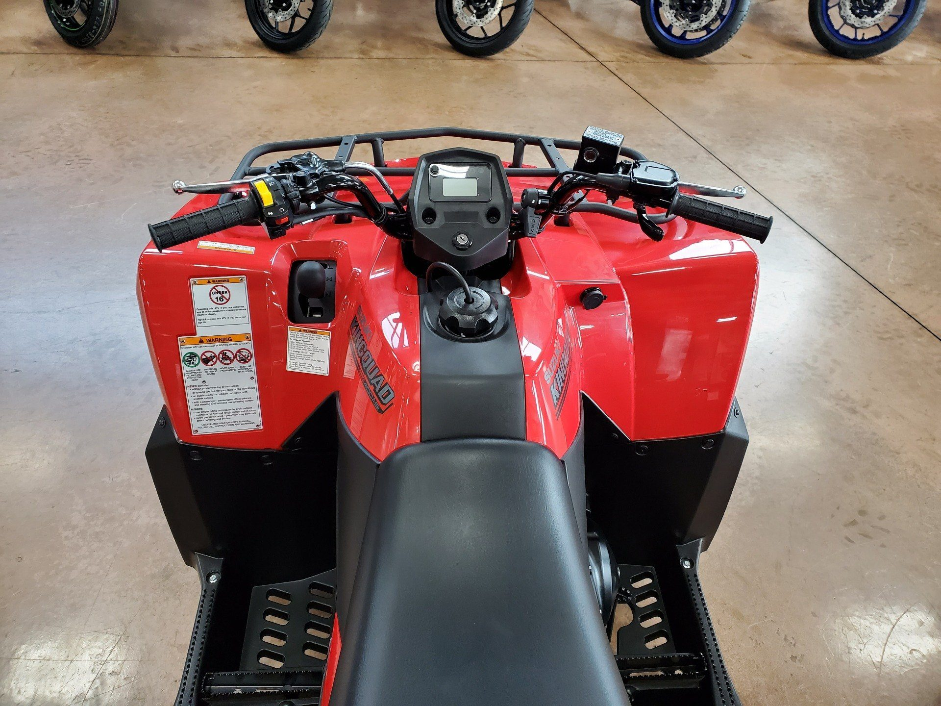2020 Suzuki KingQuad 400ASi in Evansville, Indiana - Photo 6