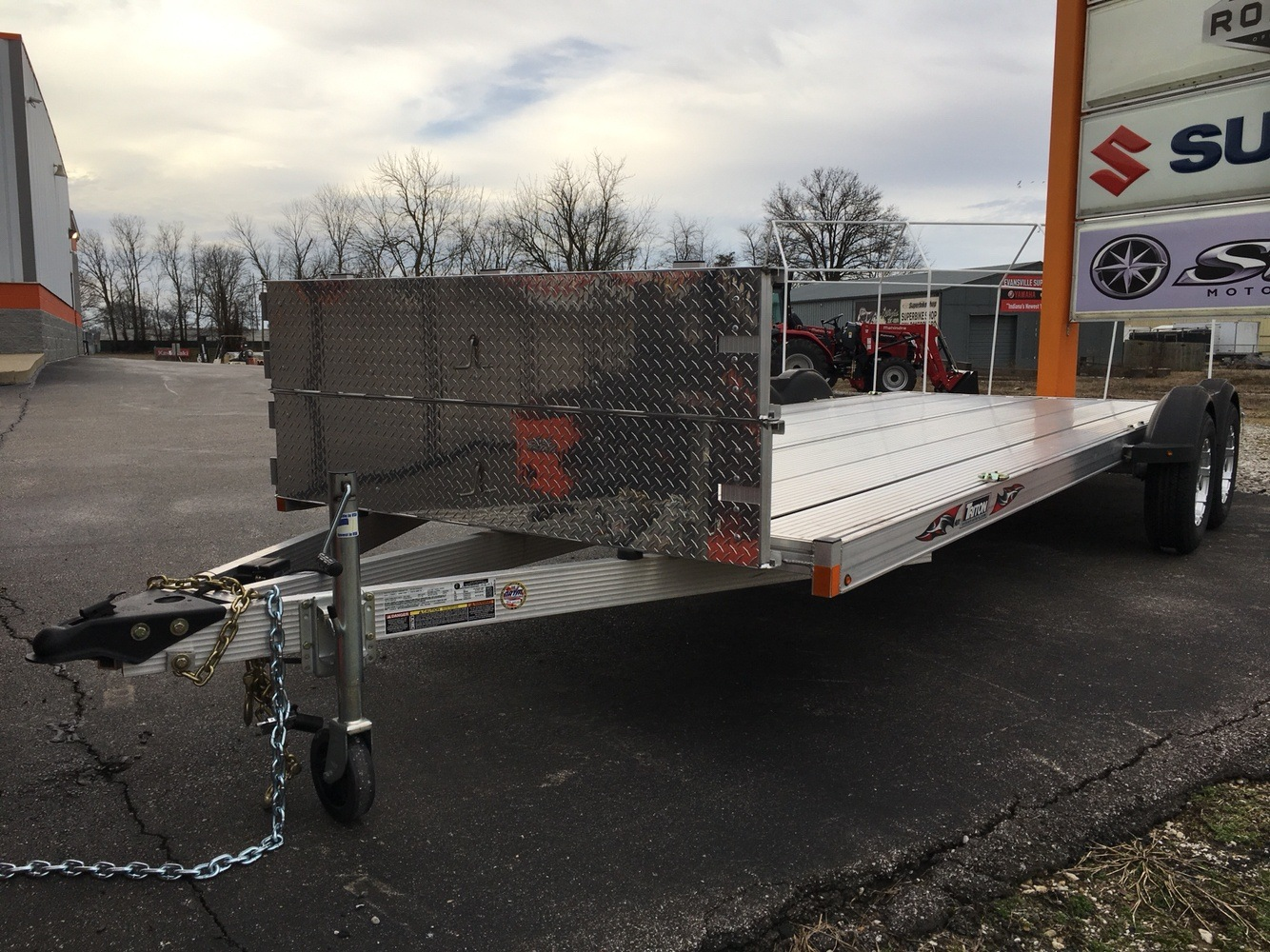 2017 Triton Trailers AUX2282-SPORT in Evansville, Indiana - Photo 2