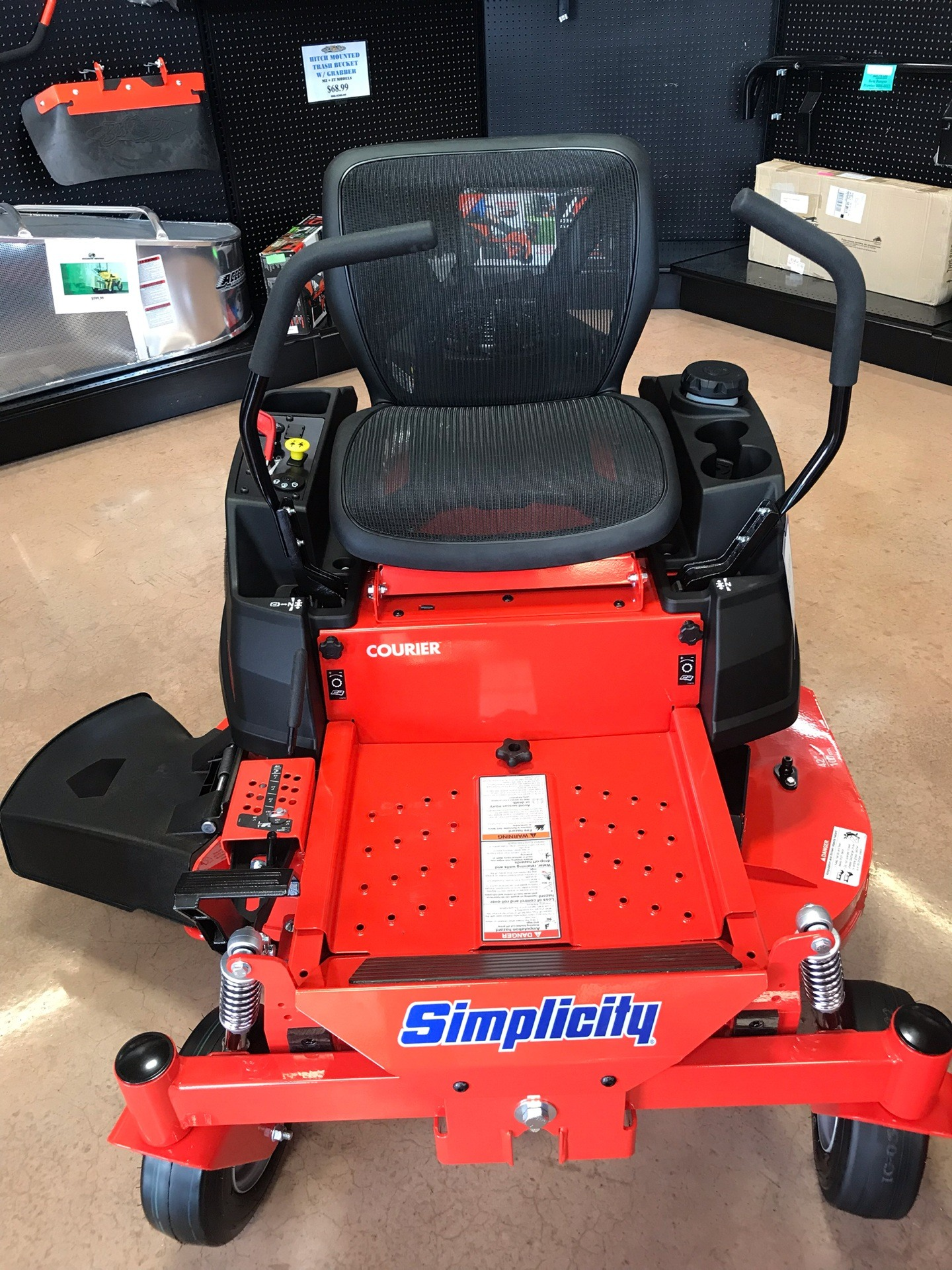2019 Simplicity Courier 42 in. Kawasaki 21.5 hp in Evansville, Indiana - Photo 1