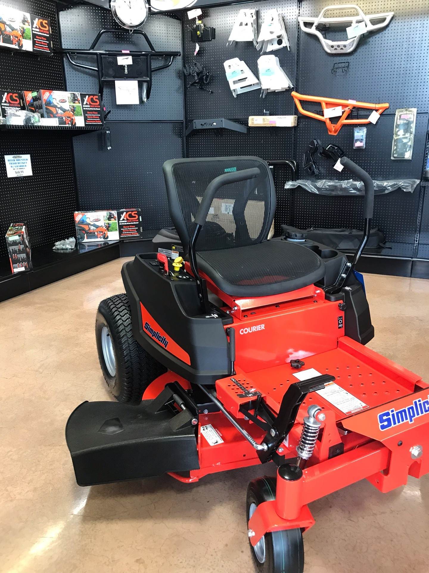 2019 Simplicity Courier 42 in. Kawasaki 21.5 hp in Evansville, Indiana - Photo 2