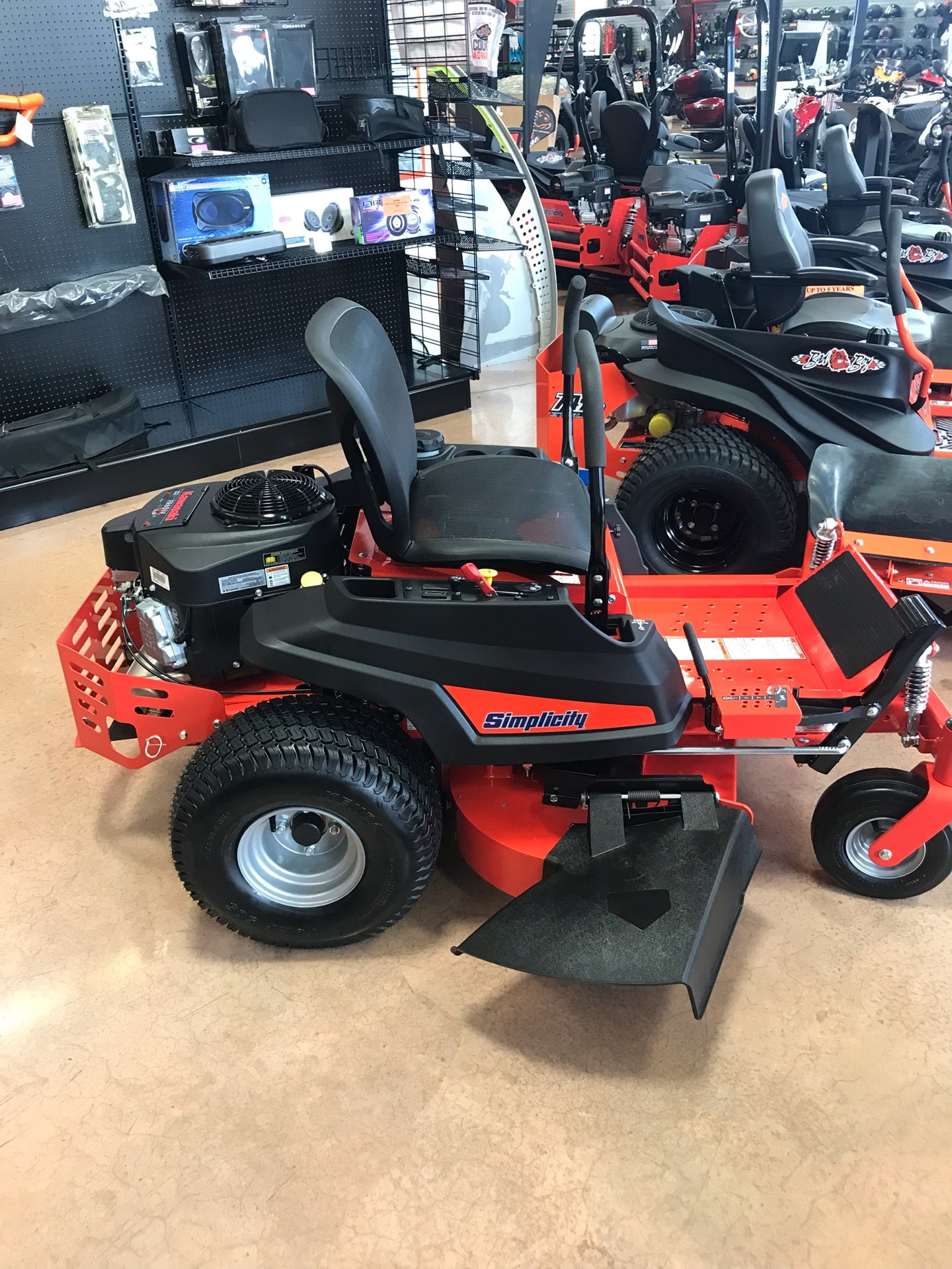 2019 Simplicity Courier 42 in. Kawasaki 21.5 hp in Evansville, Indiana - Photo 3