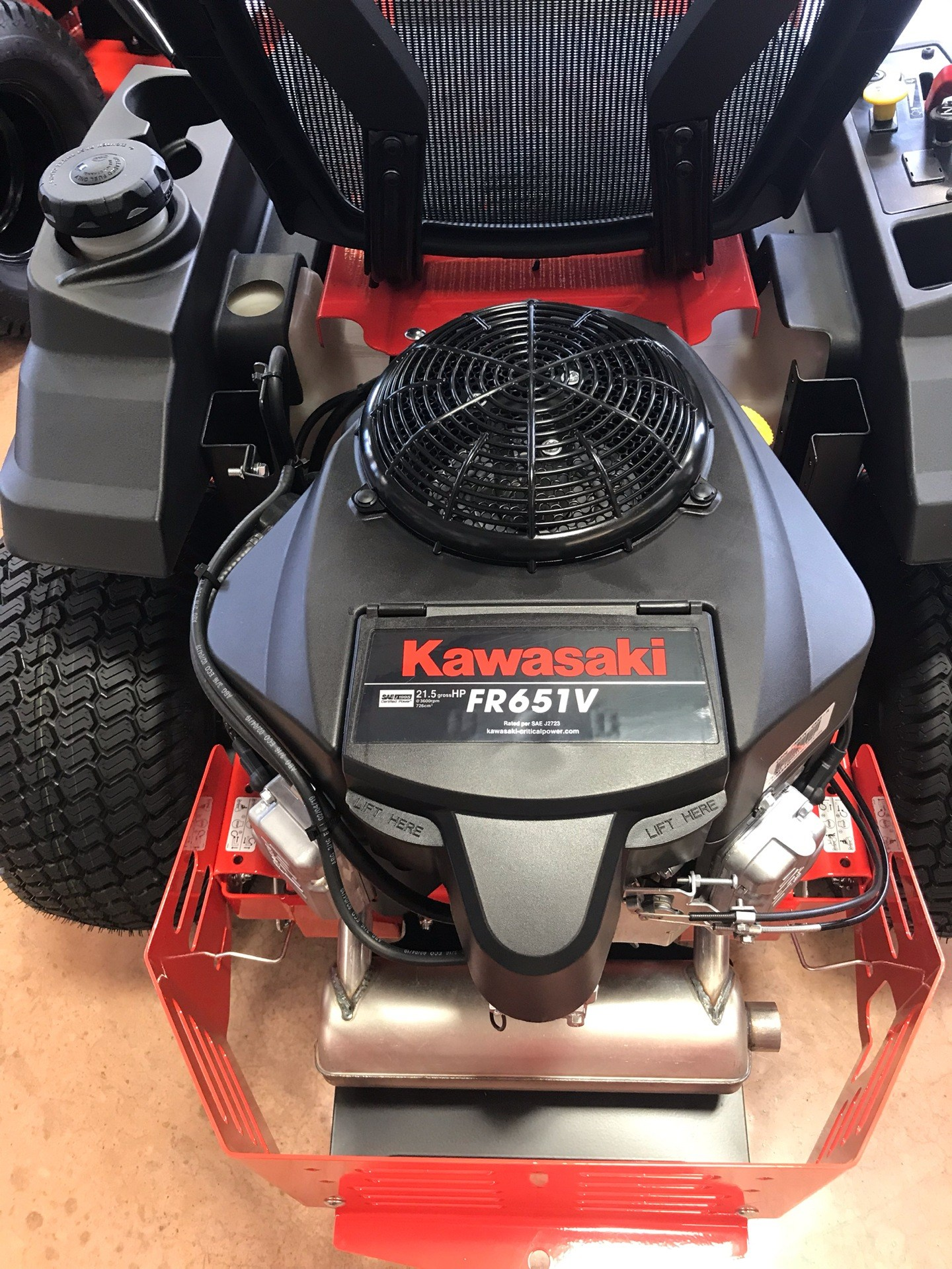 2019 Simplicity Courier 42 in. Kawasaki 21.5 hp in Evansville, Indiana - Photo 5
