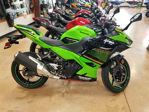 2020 Kawasaki Ninja 400 ABS KRT Edition in Evansville, Indiana - Photo 1