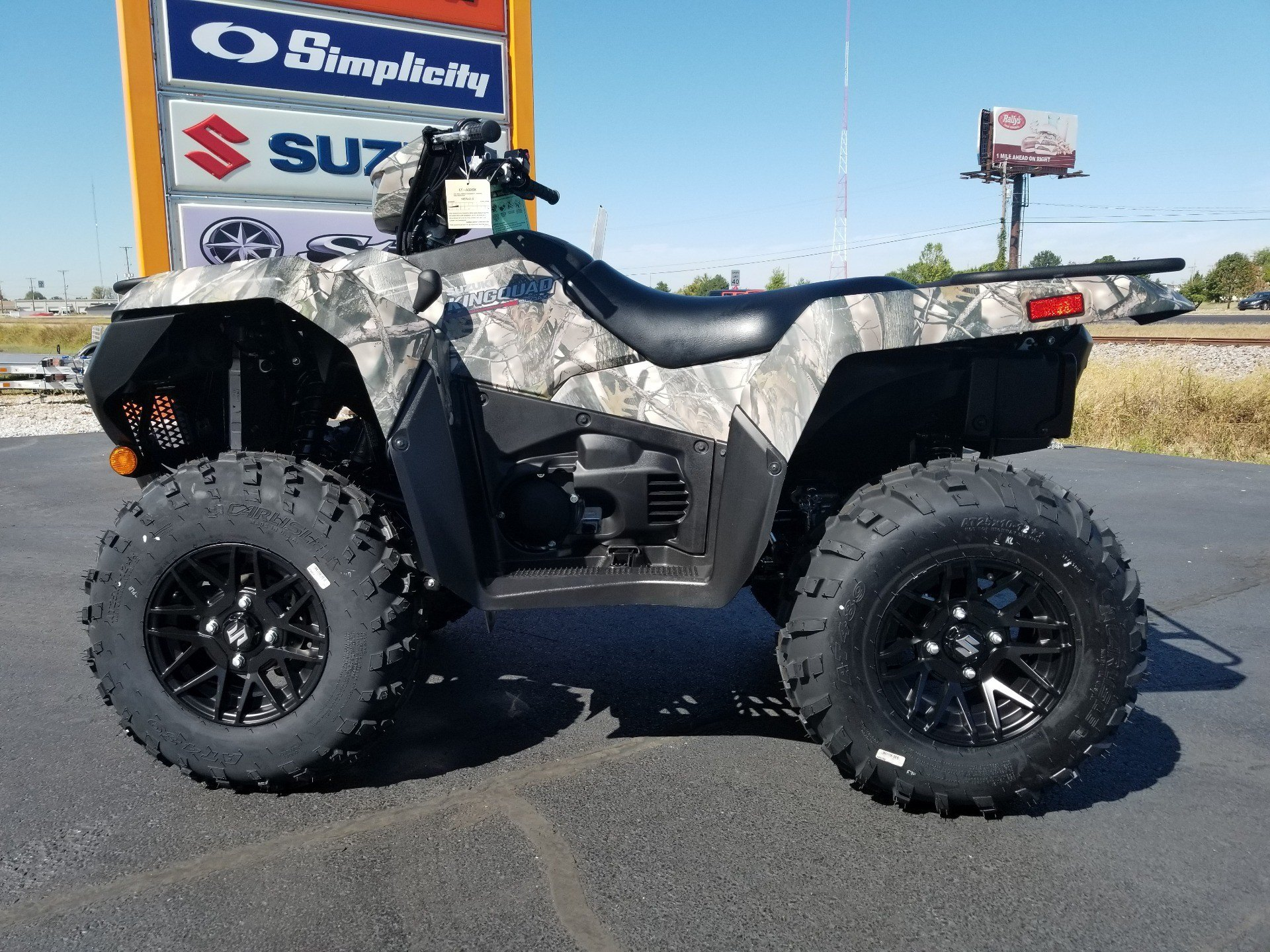2020 Suzuki KingQuad 500AXi Power Steering SE Camo in Evansville, Indiana - Photo 2