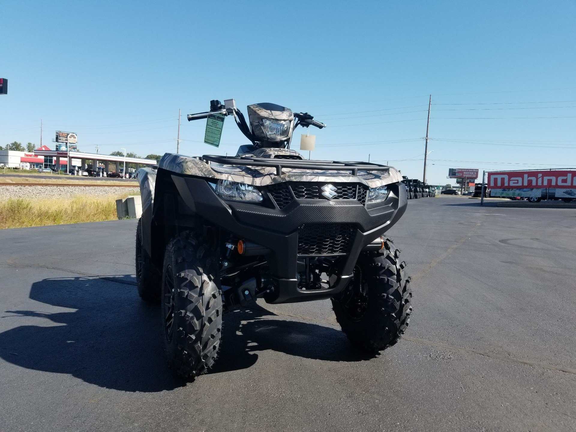 2020 Suzuki KingQuad 500AXi Power Steering SE Camo in Evansville, Indiana - Photo 4