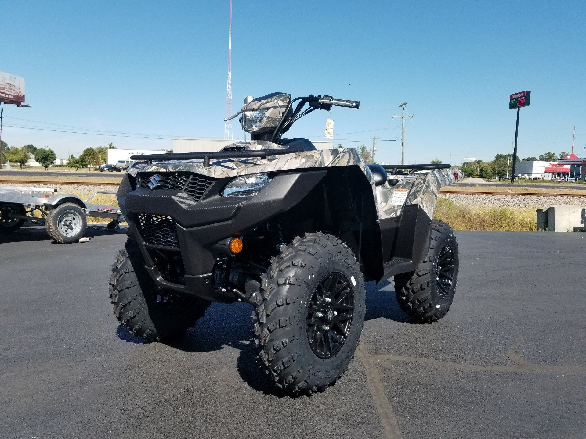 2020 Suzuki KingQuad 500AXi Power Steering SE Camo in Evansville, Indiana - Photo 3