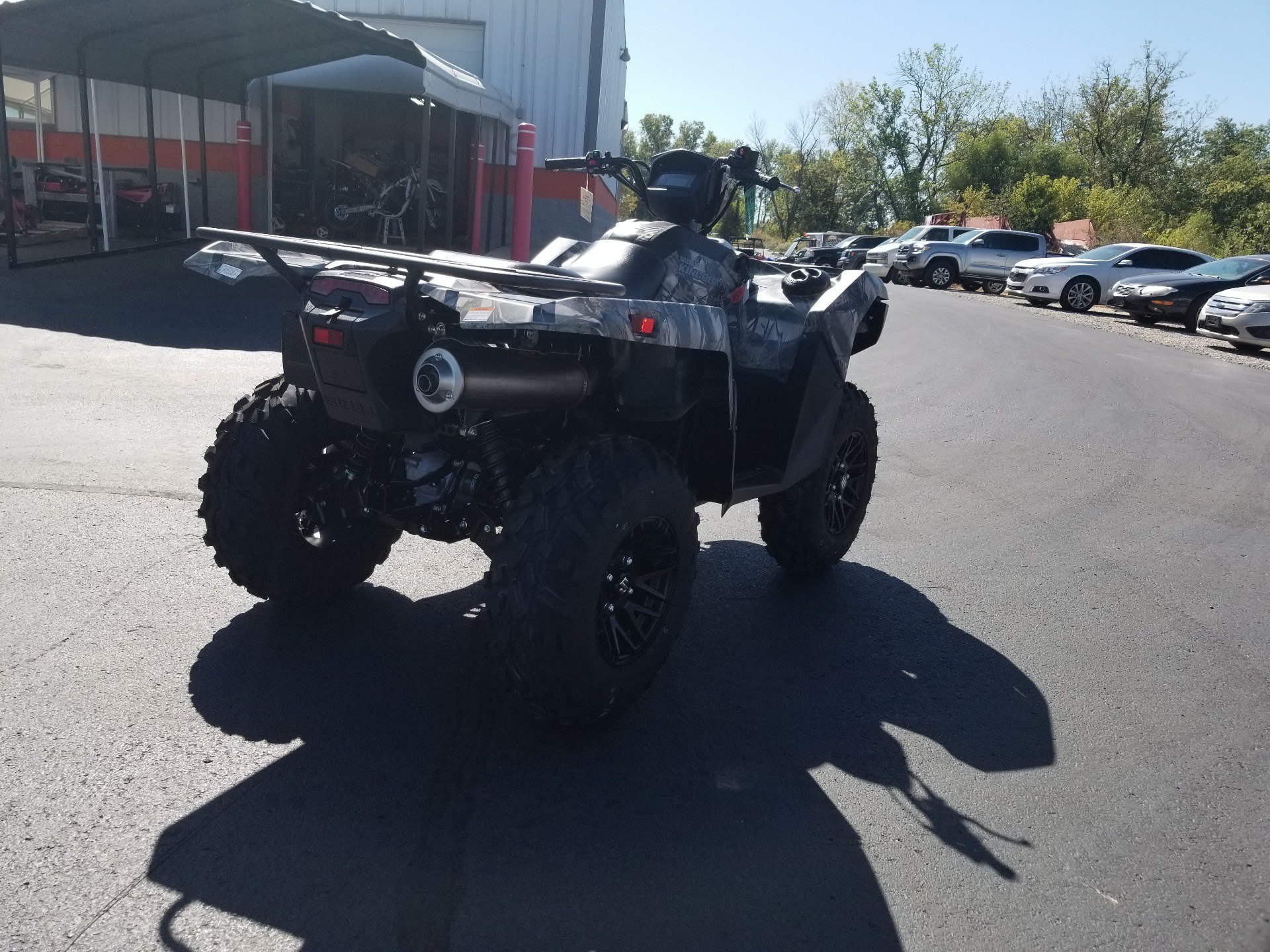 2020 Suzuki KingQuad 500AXi Power Steering SE Camo in Evansville, Indiana - Photo 10