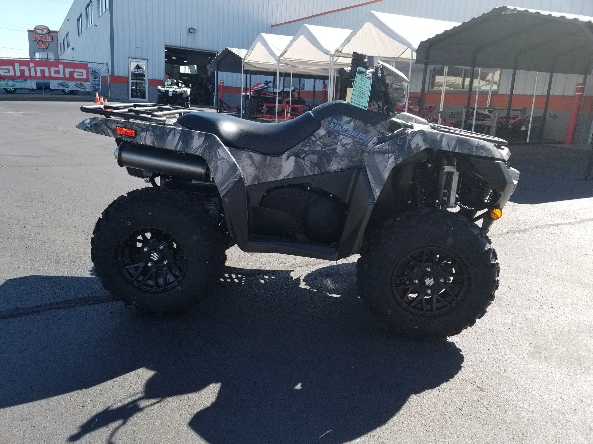 2020 Suzuki KingQuad 500AXi Power Steering SE Camo in Evansville, Indiana - Photo 1