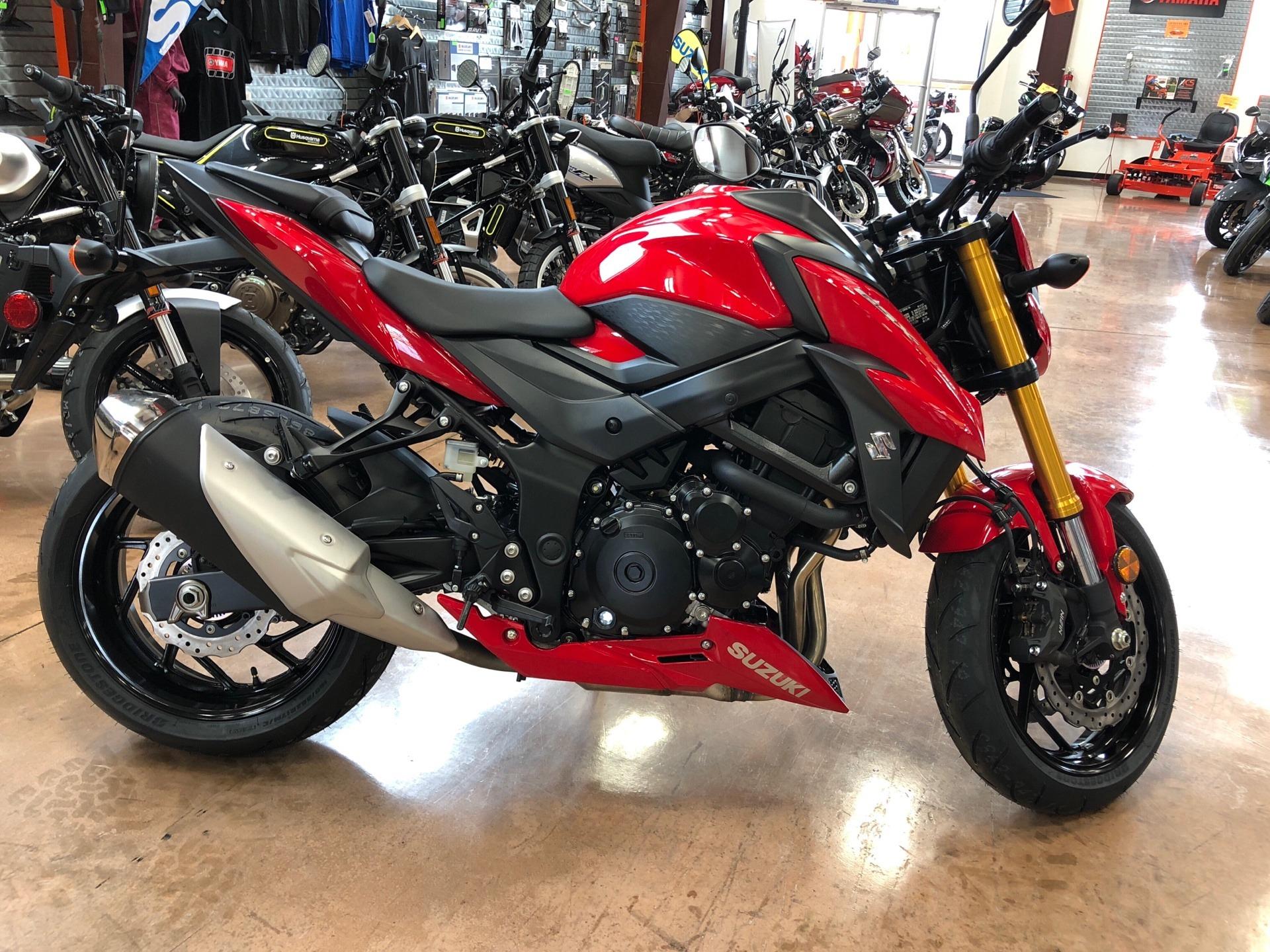 New 2018 Suzuki Gsx S750 Motorcycles In Evansville In Stock