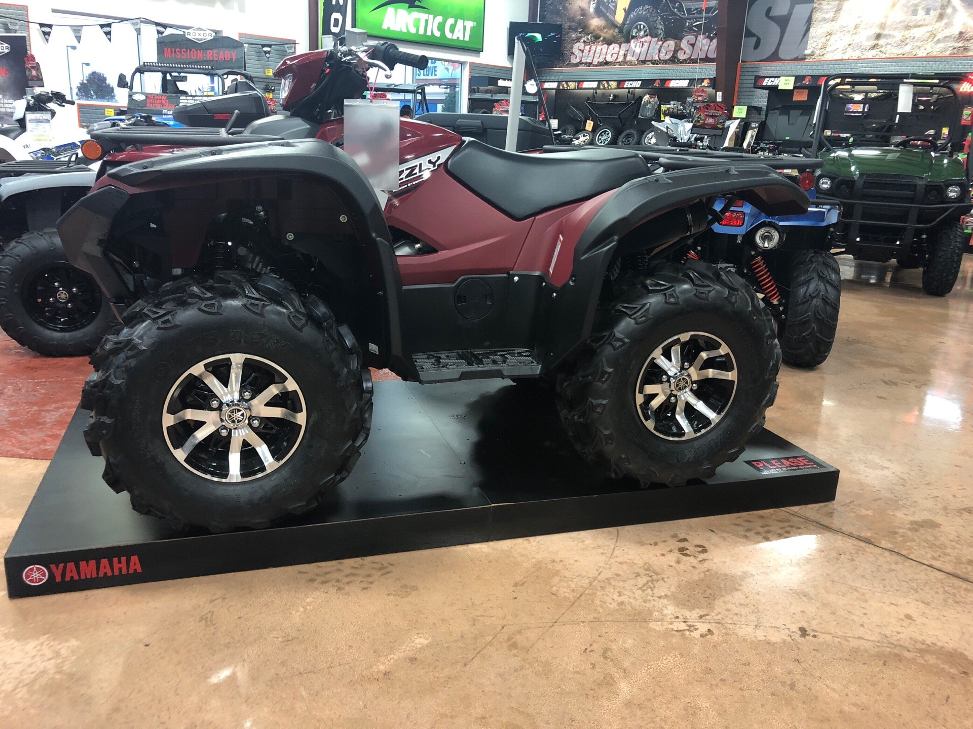 2019 Yamaha Grizzly EPS in Evansville, Indiana