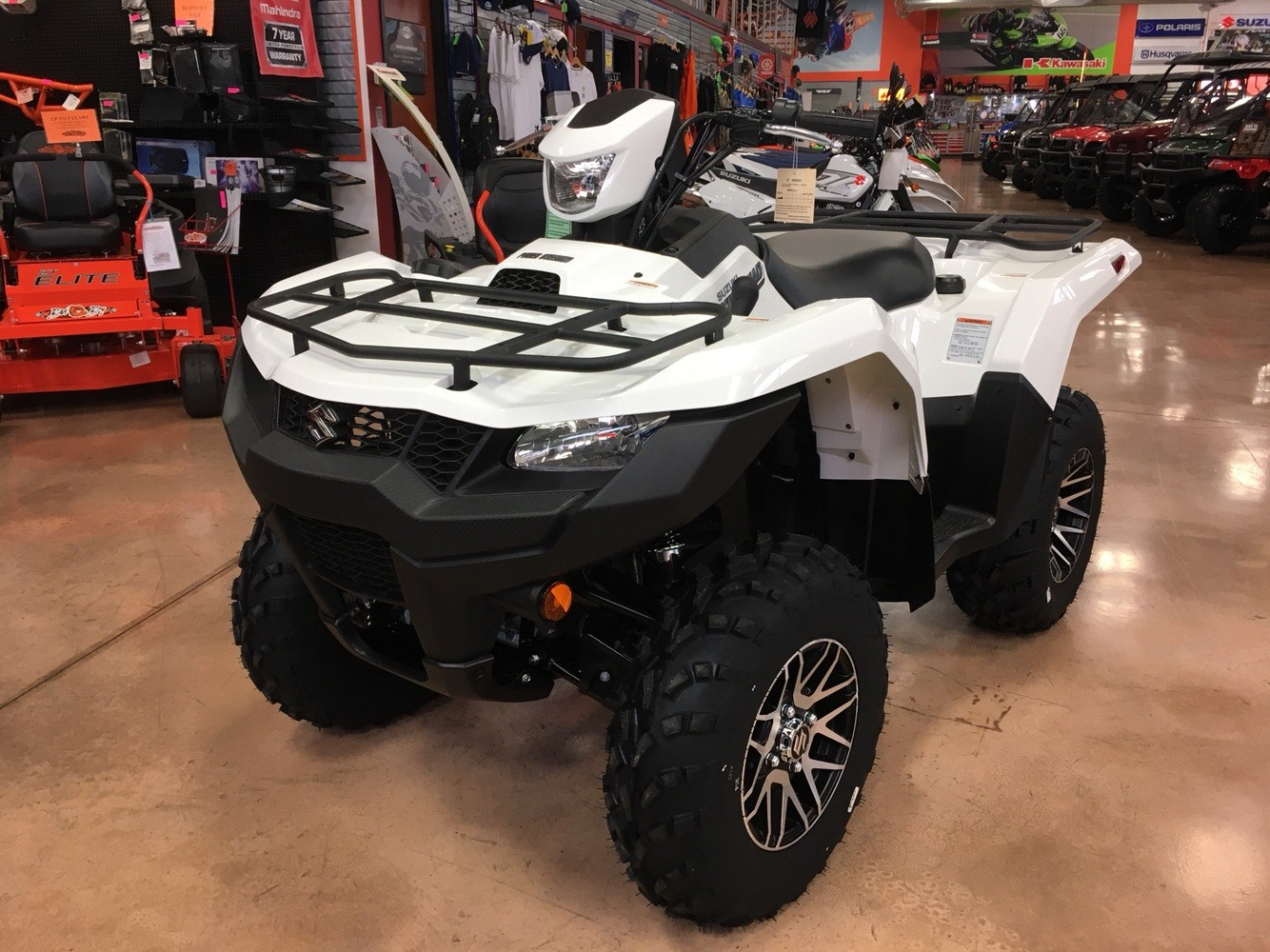 2019 Suzuki KingQuad 500AXi Power Steering SE in Evansville, Indiana - Photo 1