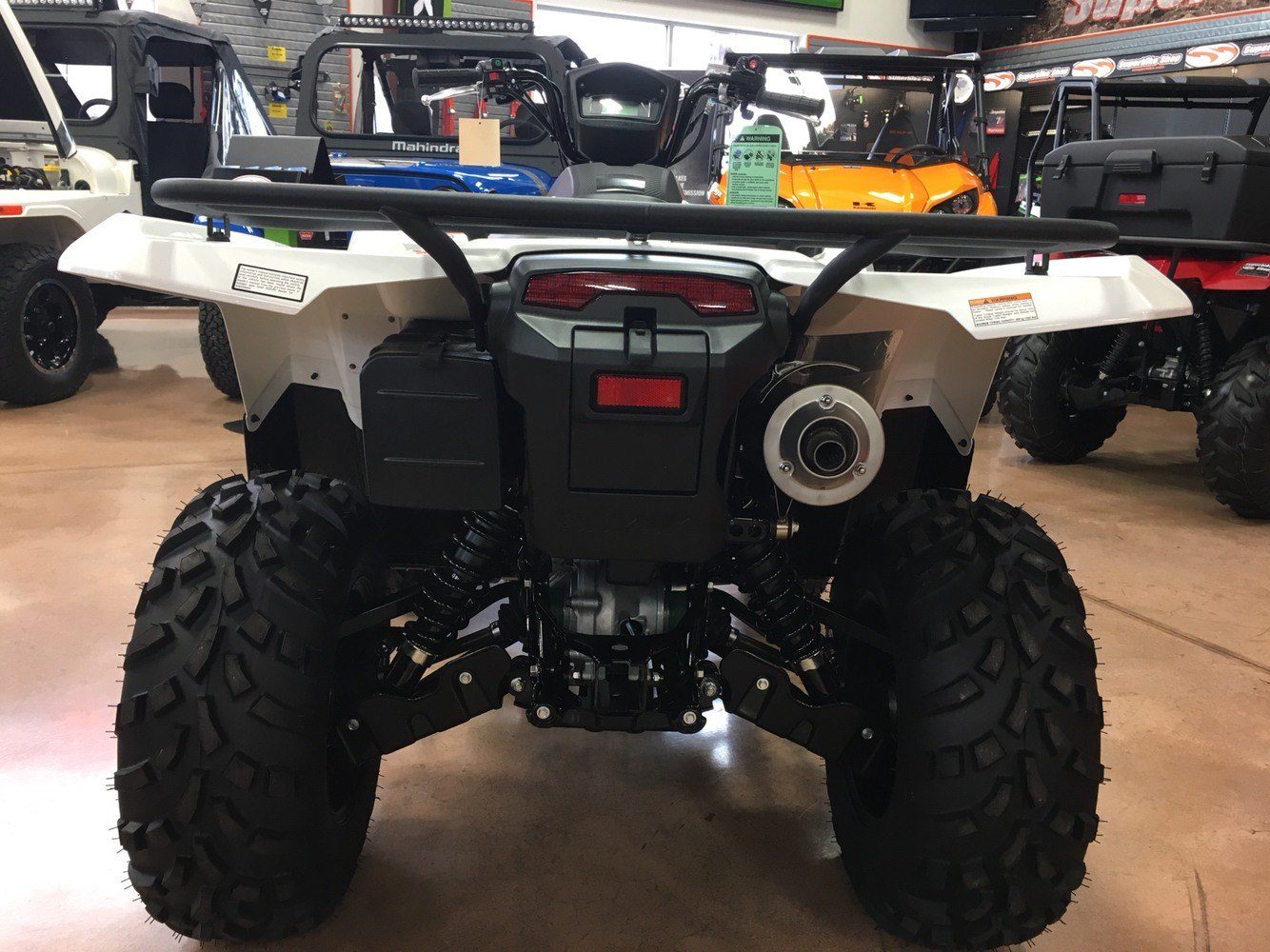 2019 Suzuki KingQuad 500AXi Power Steering SE in Evansville, Indiana - Photo 6